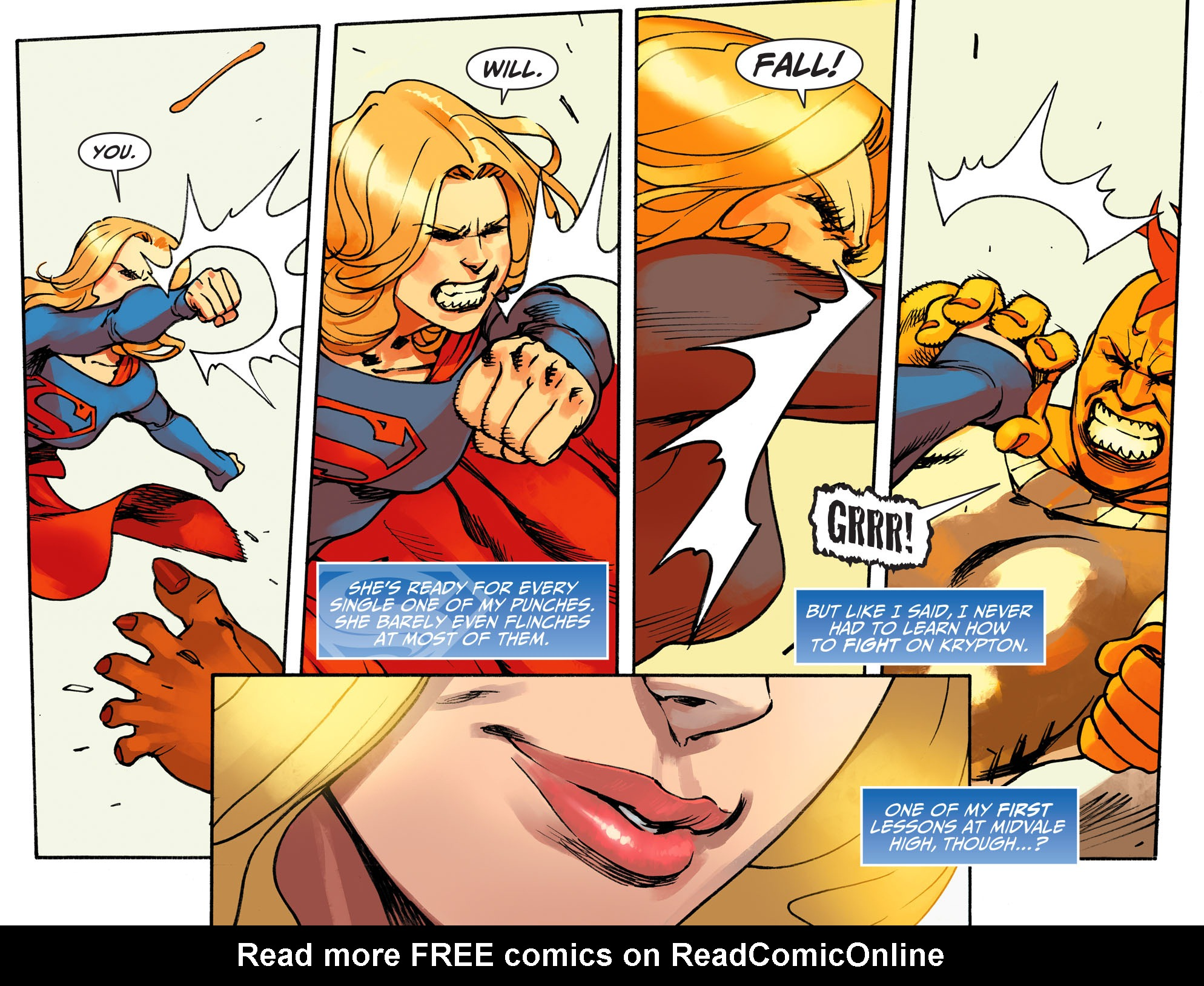 Read online Adventures of Supergirl comic -  Issue #1 - 17