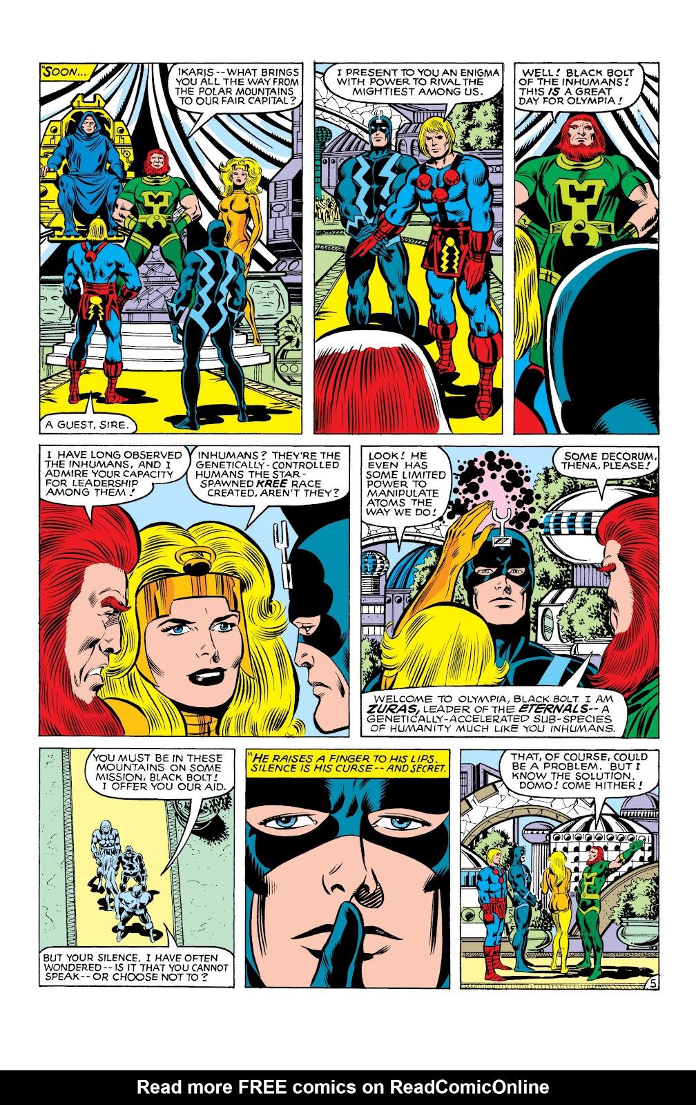 Read online Marvel Masterworks: The Inhumans comic -  Issue # TPB 2 (Part 3) - 86