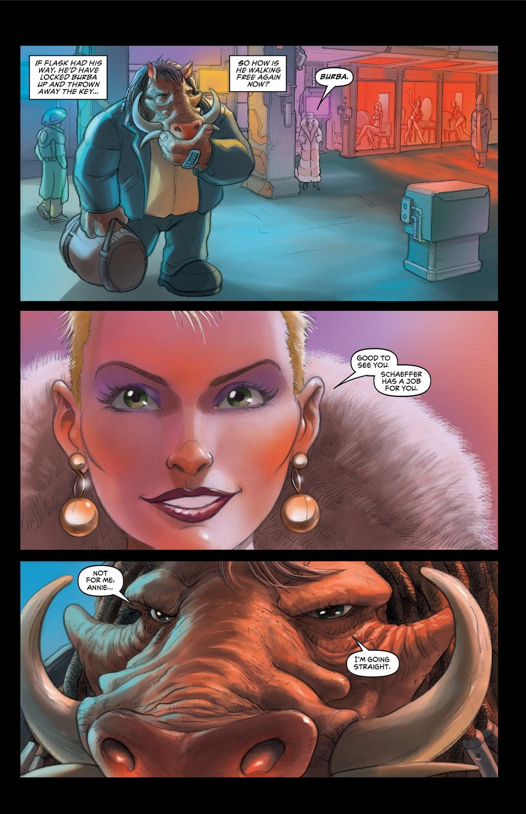 Read online Elephantmen 2261 Season Two: The Pentalion Job comic -  Issue # TPB - 12