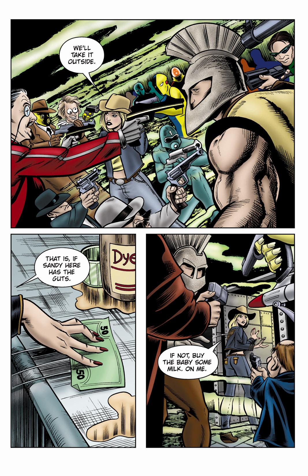 Read online SideChicks comic -  Issue #3 - 6