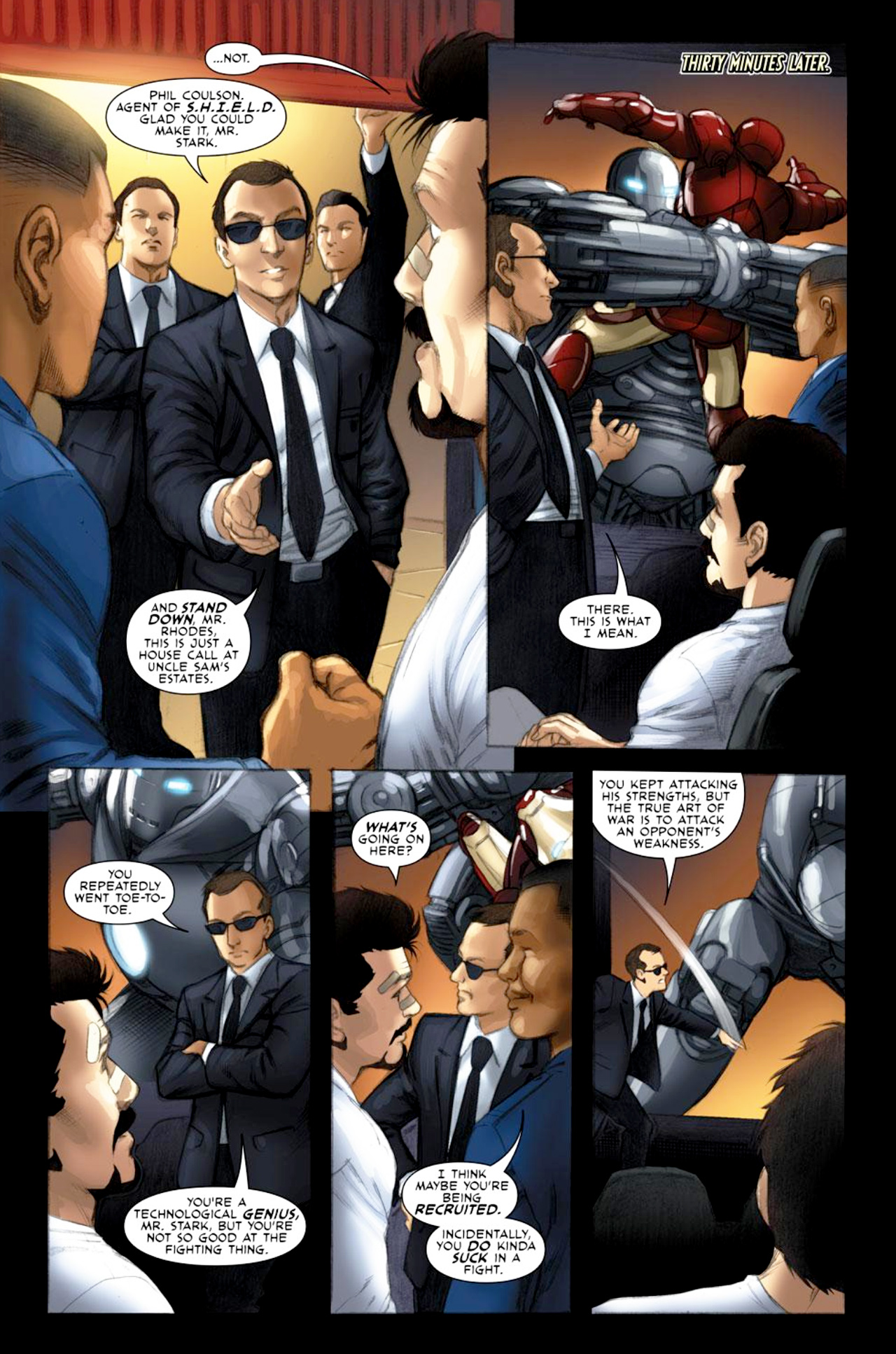 Read online Iron Man: Fast Friends comic -  Issue #2 - 3