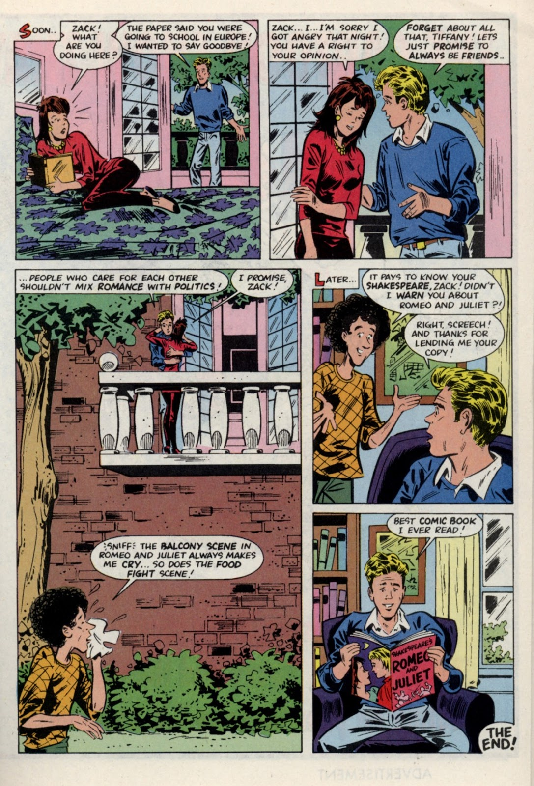 Read online Saved By The Bell comic -  Issue #4 - 17