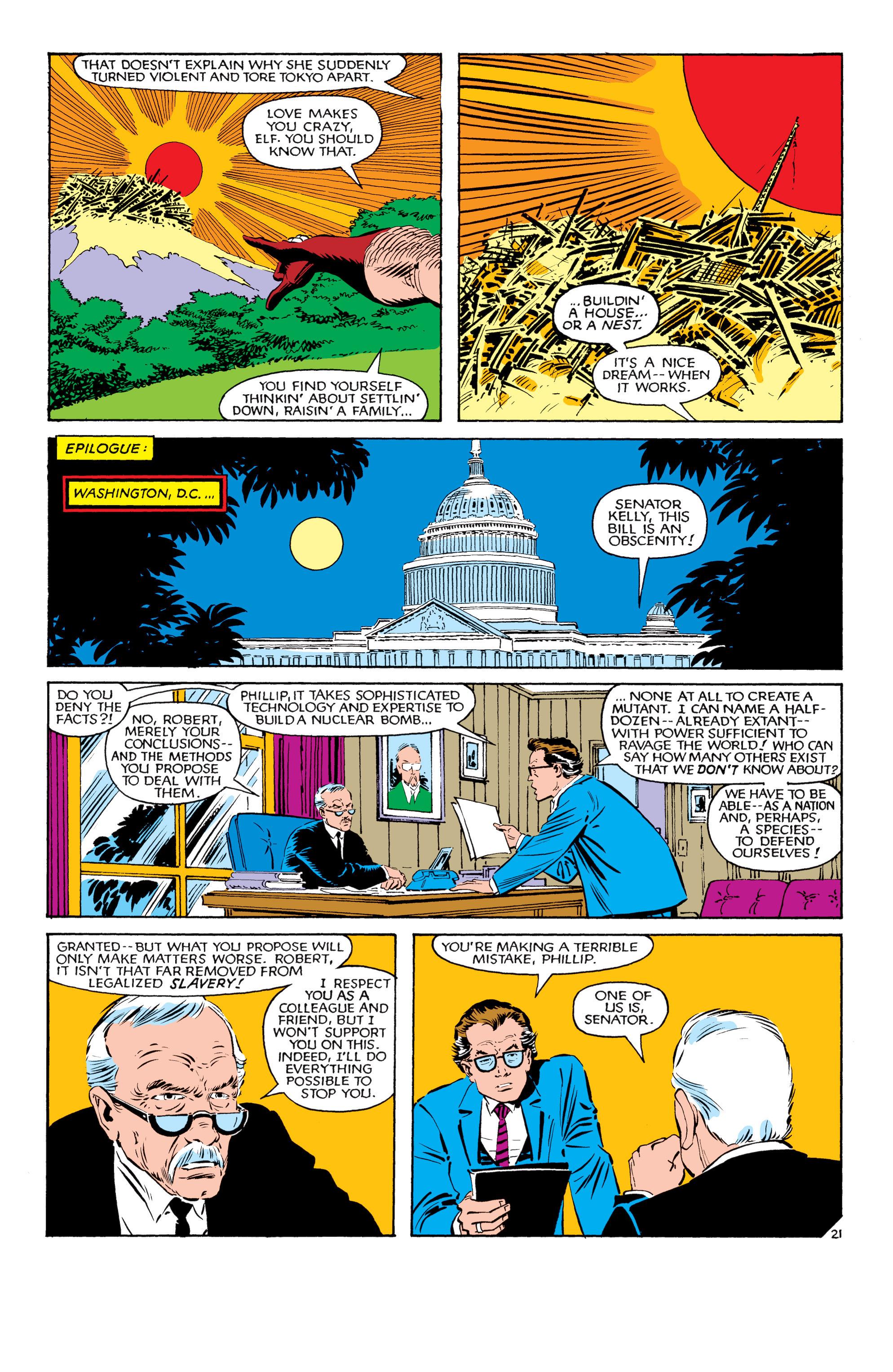 Read online Uncanny X-Men (1963) comic -  Issue #181 - 21