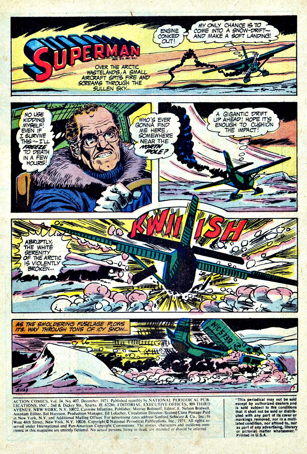 Read online Action Comics (1938) comic -  Issue #407 - 3