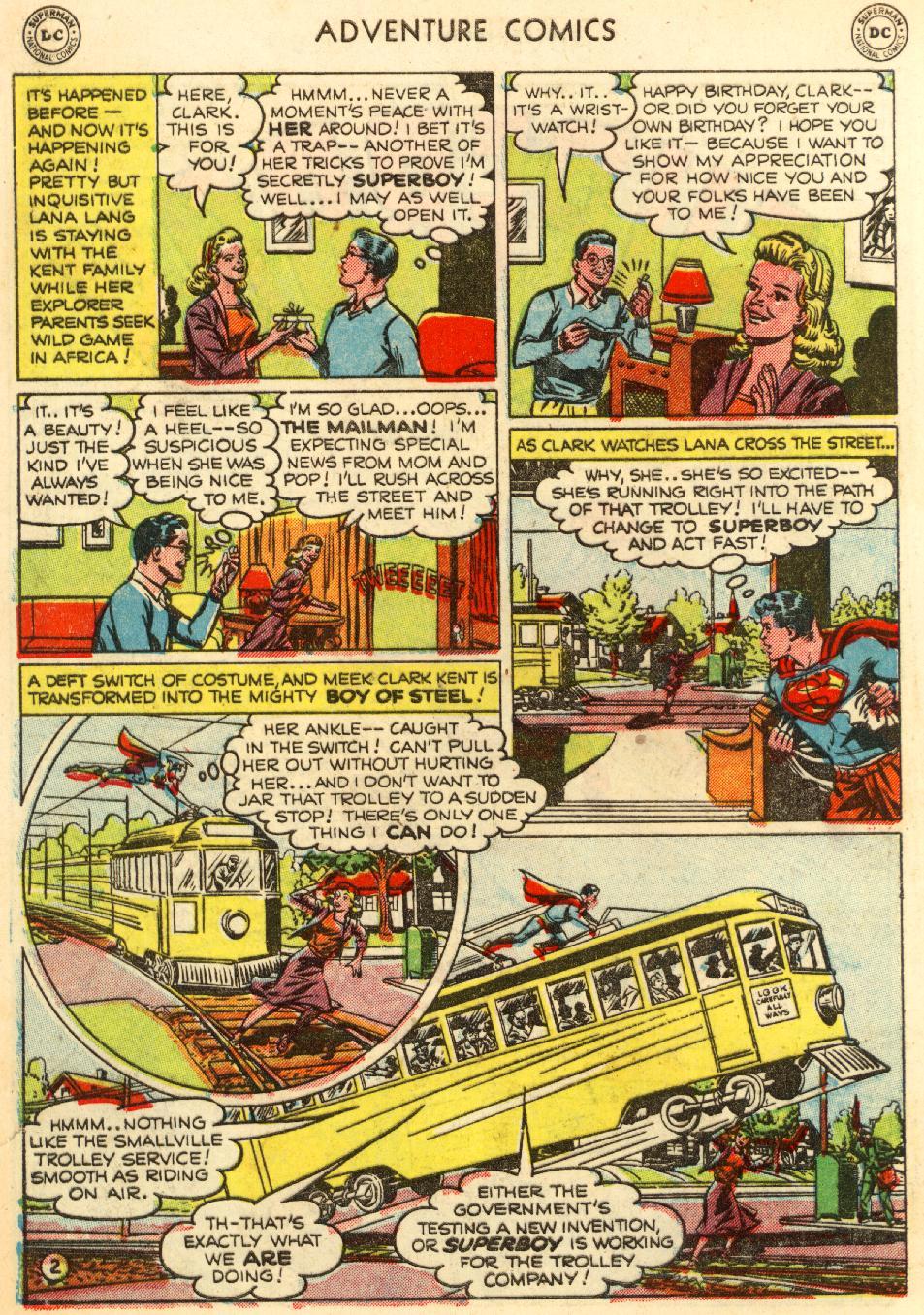 Read online Adventure Comics (1938) comic -  Issue #170 - 4