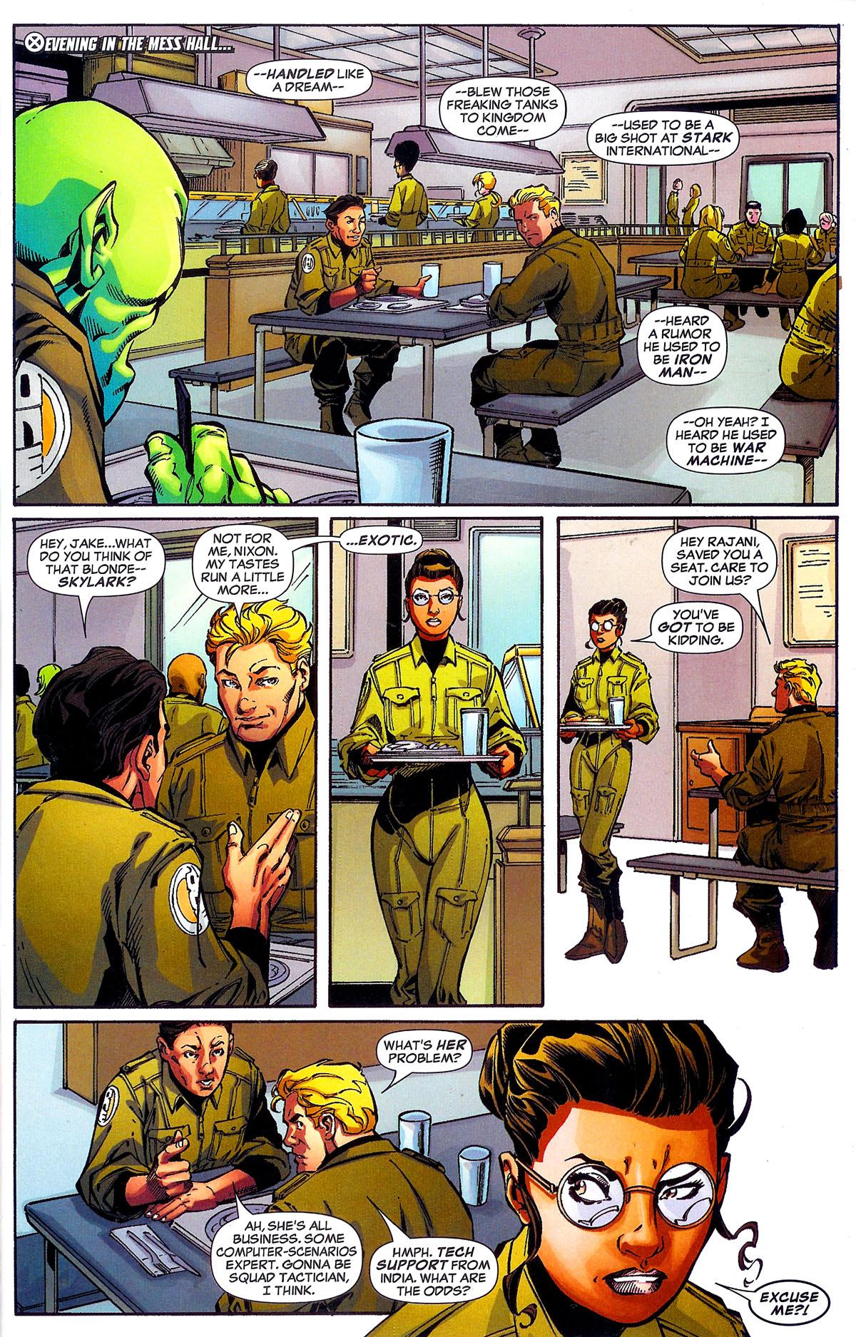 Read online Sentinel Squad O*N*E comic -  Issue #1 - 19