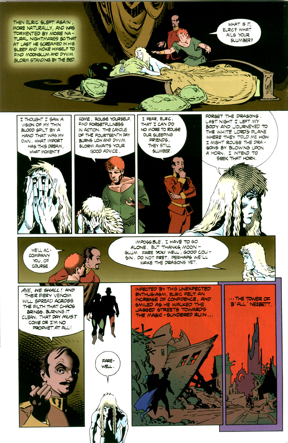 Read online Elric: Stormbringer comic -  Issue #6 - 12