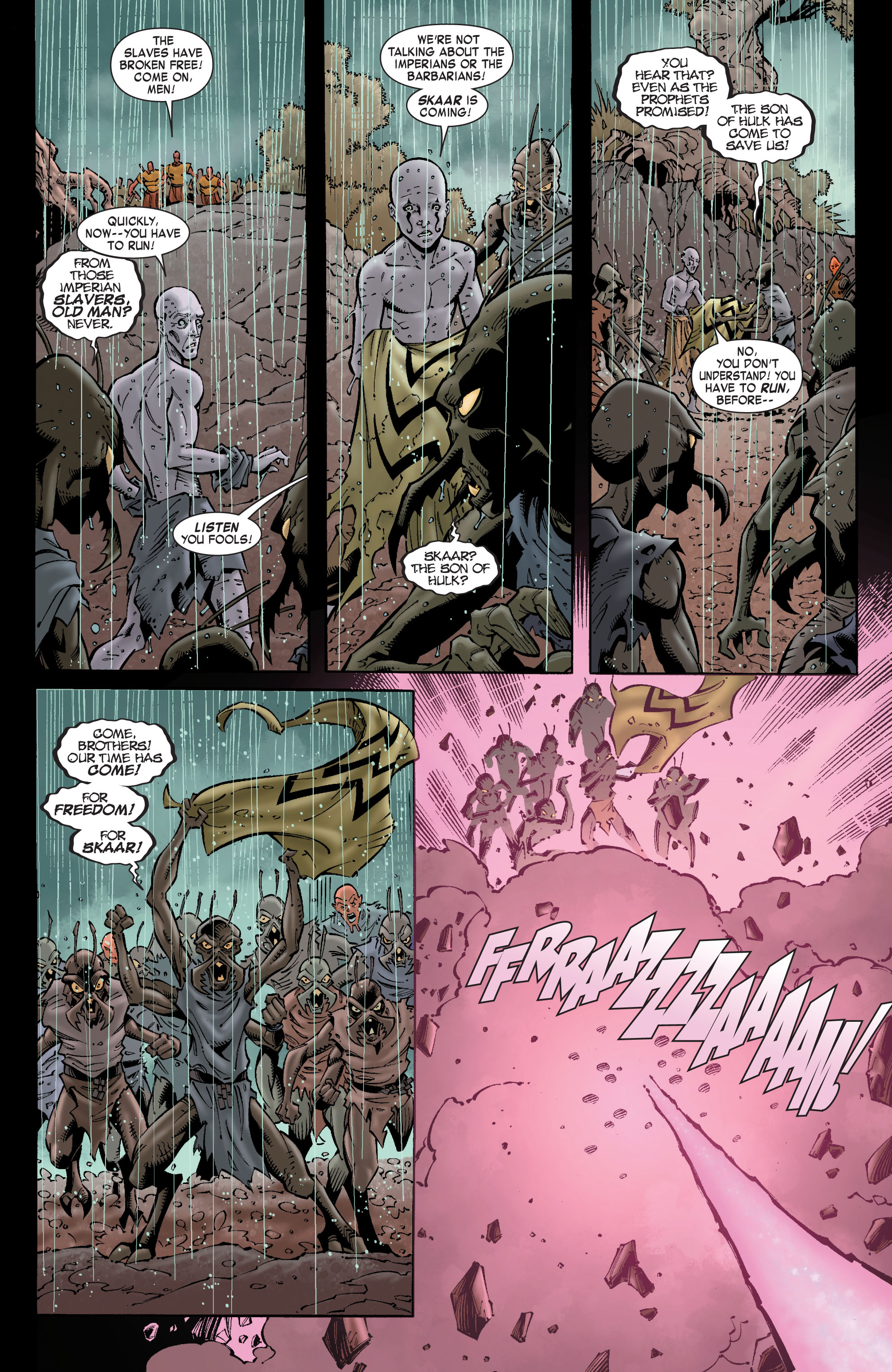Read online Skaar: Son of Hulk comic -  Issue #8 - 4