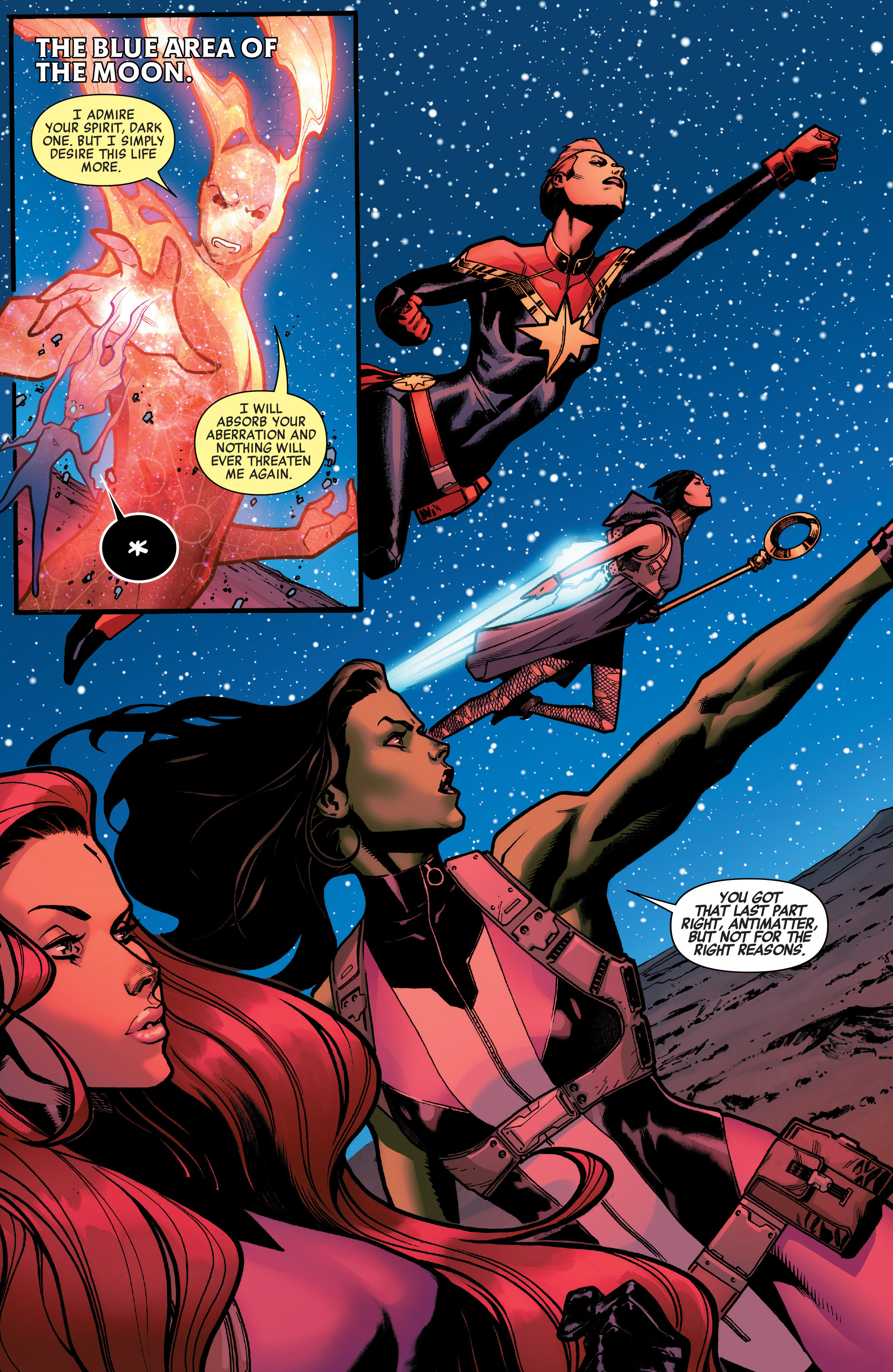 Read online A-Force (2016) comic -  Issue #4 - 7