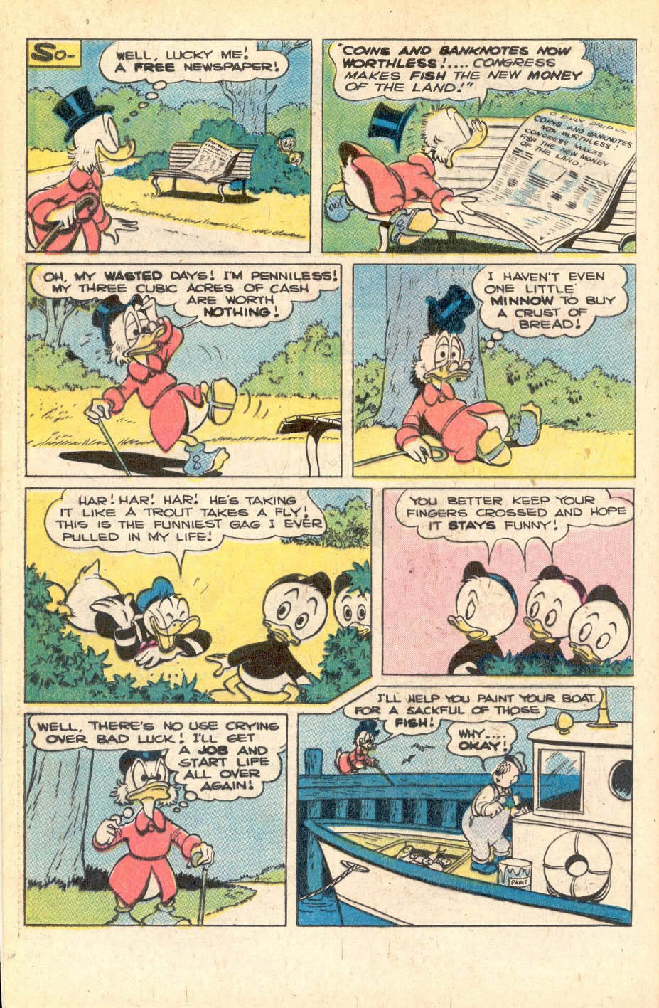 Read online Uncle Scrooge (1953) comic -  Issue #156 - 28