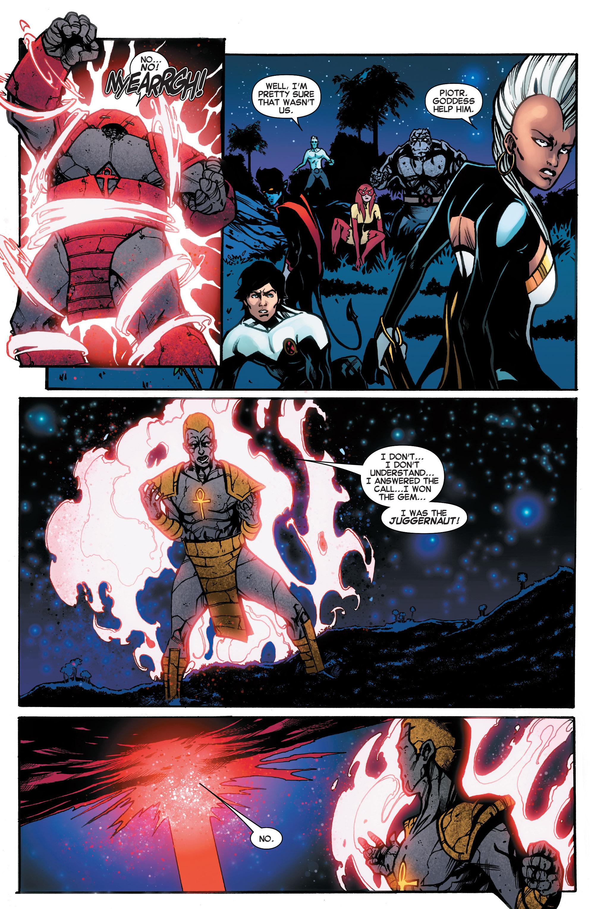 Read online Amazing X-Men (2014) comic -  Issue #18 - 18