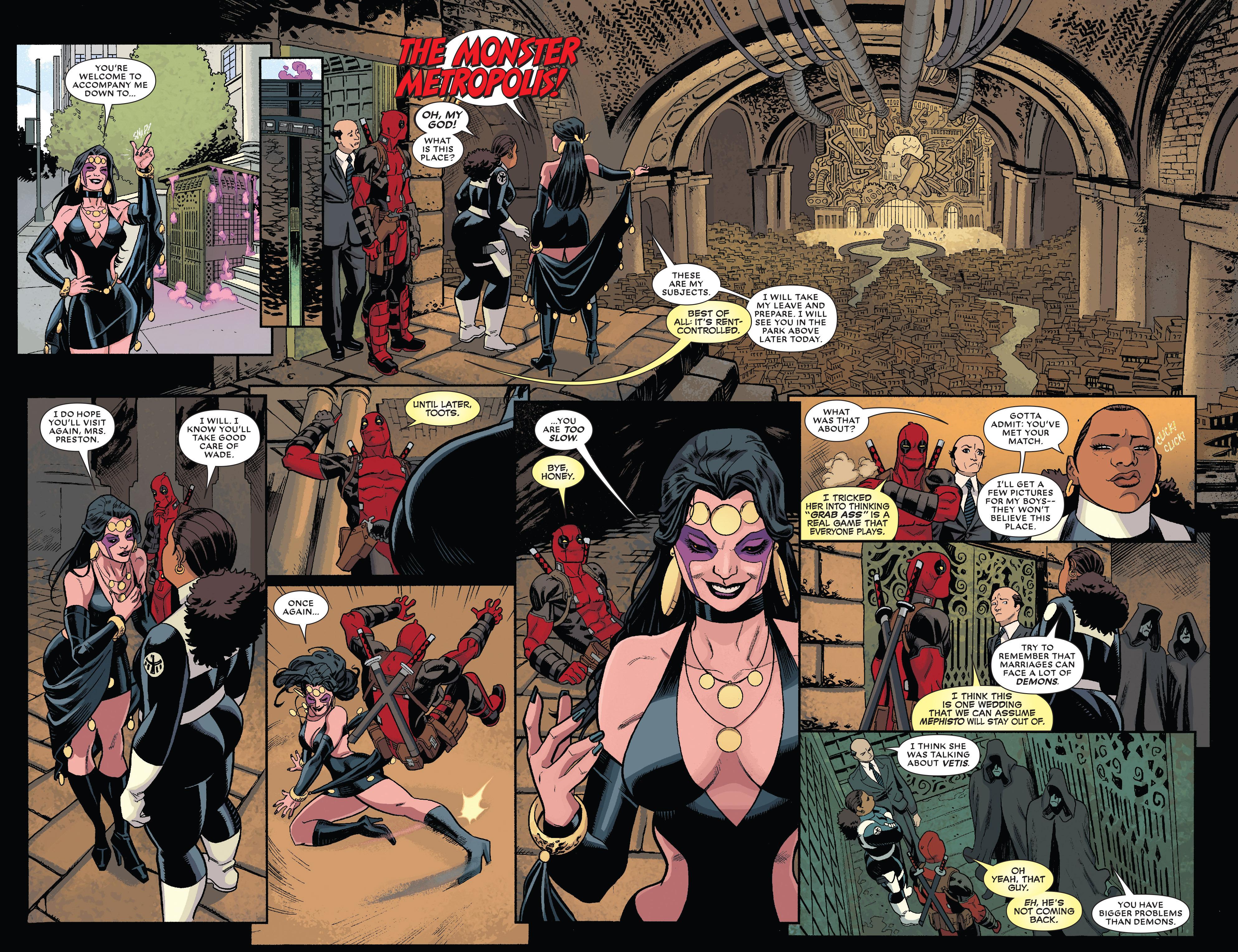 Read online True Believers: The Wedding of Deadpool comic -  Issue # Full - 9