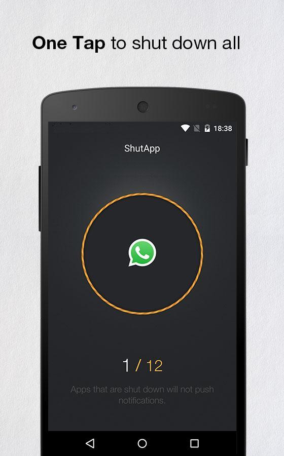 ShutApp - Real Battery Saver