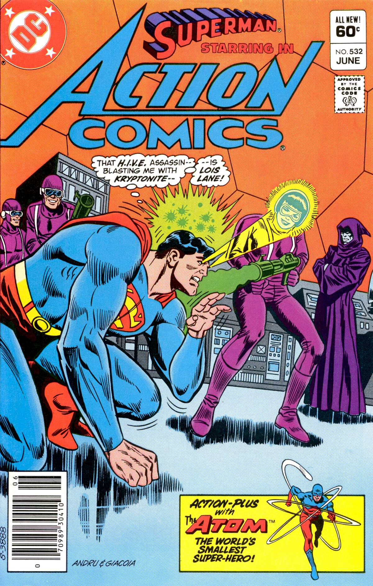 Action Comics (1938) 532 Page 1