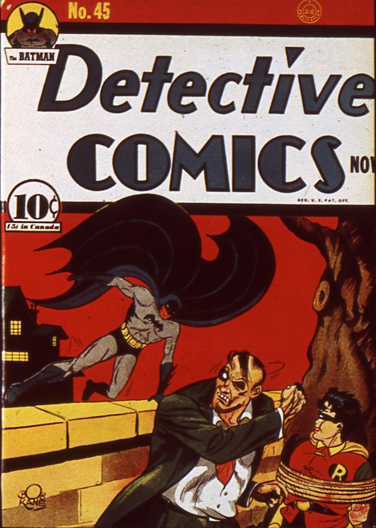 Read online Detective Comics (1937) comic -  Issue #45 - 1