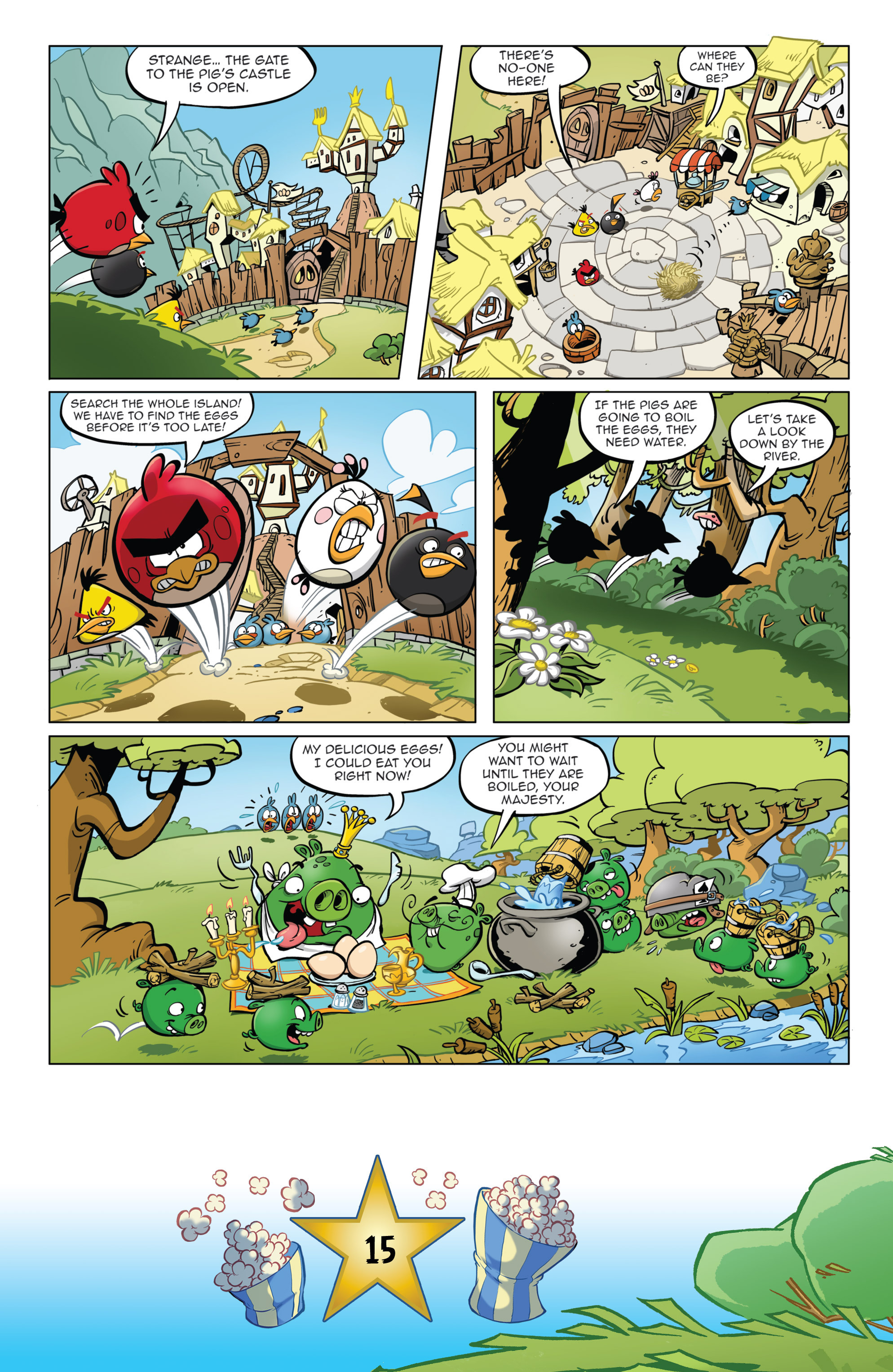 Read online Angry Birds Comics (2016) comic -  Issue #5 - 17