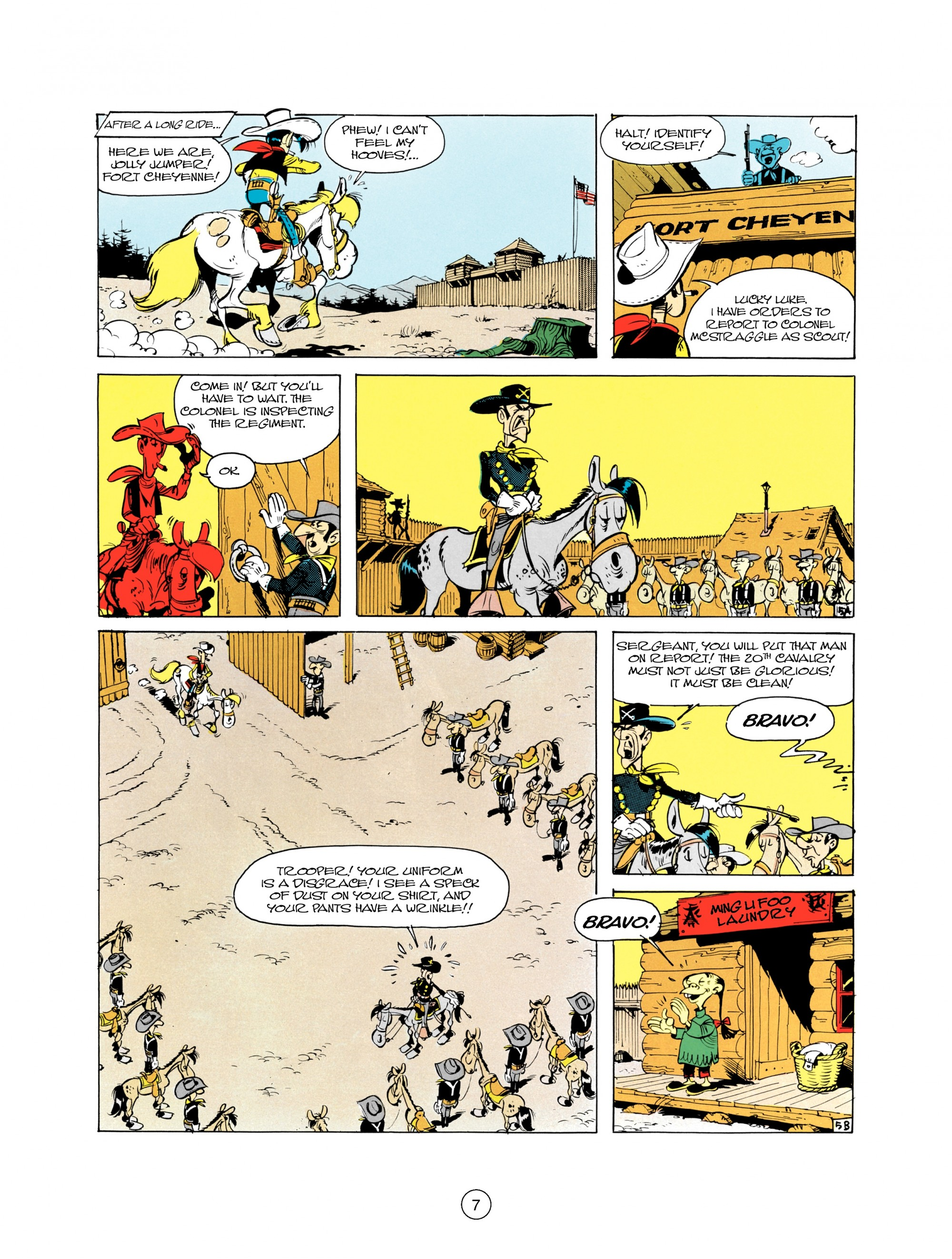 Read online A Lucky Luke Adventure comic -  Issue #21 - 7