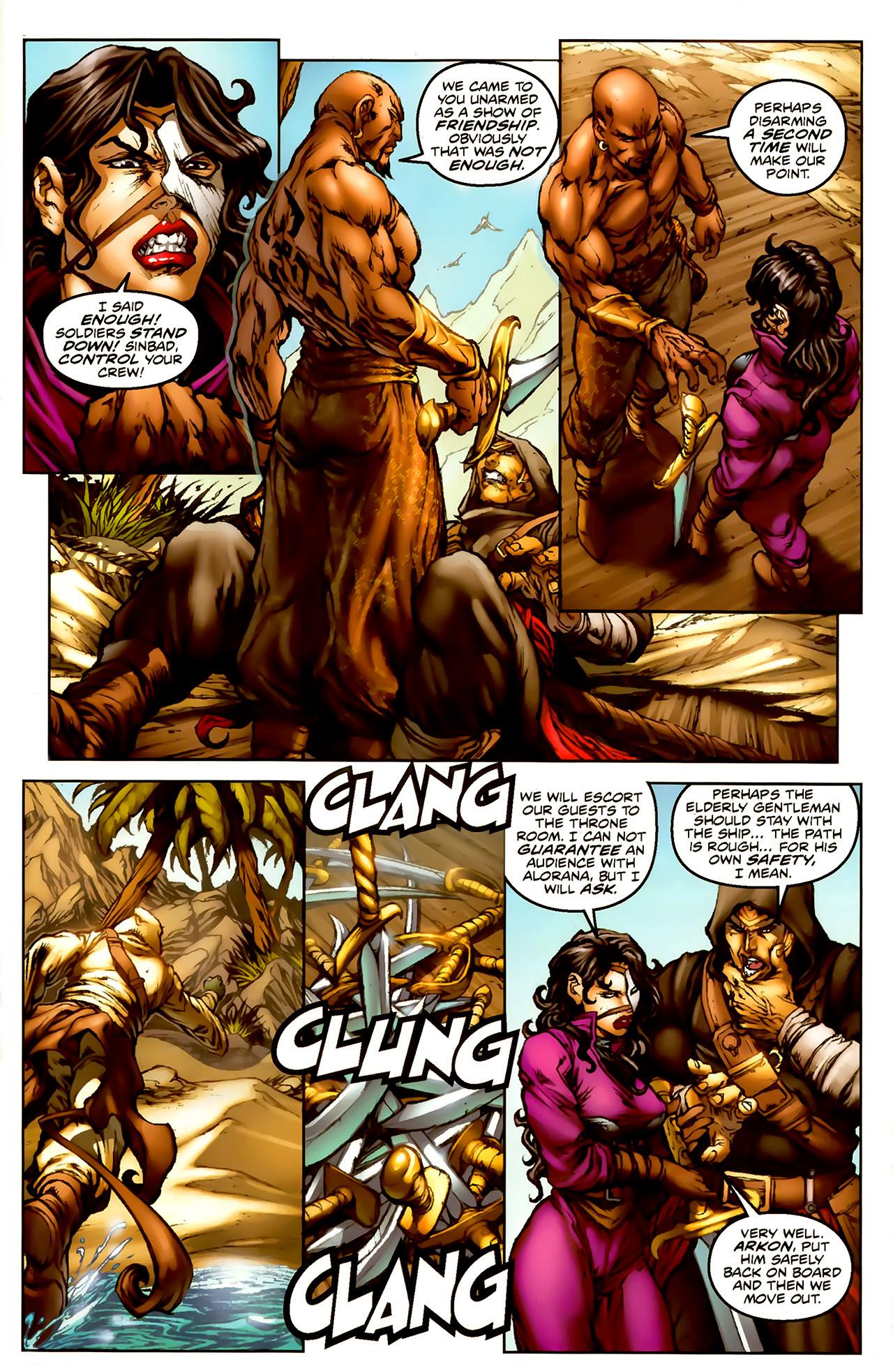 Read online 1001 Arabian Nights: The Adventures of Sinbad comic -  Issue #1 - 14