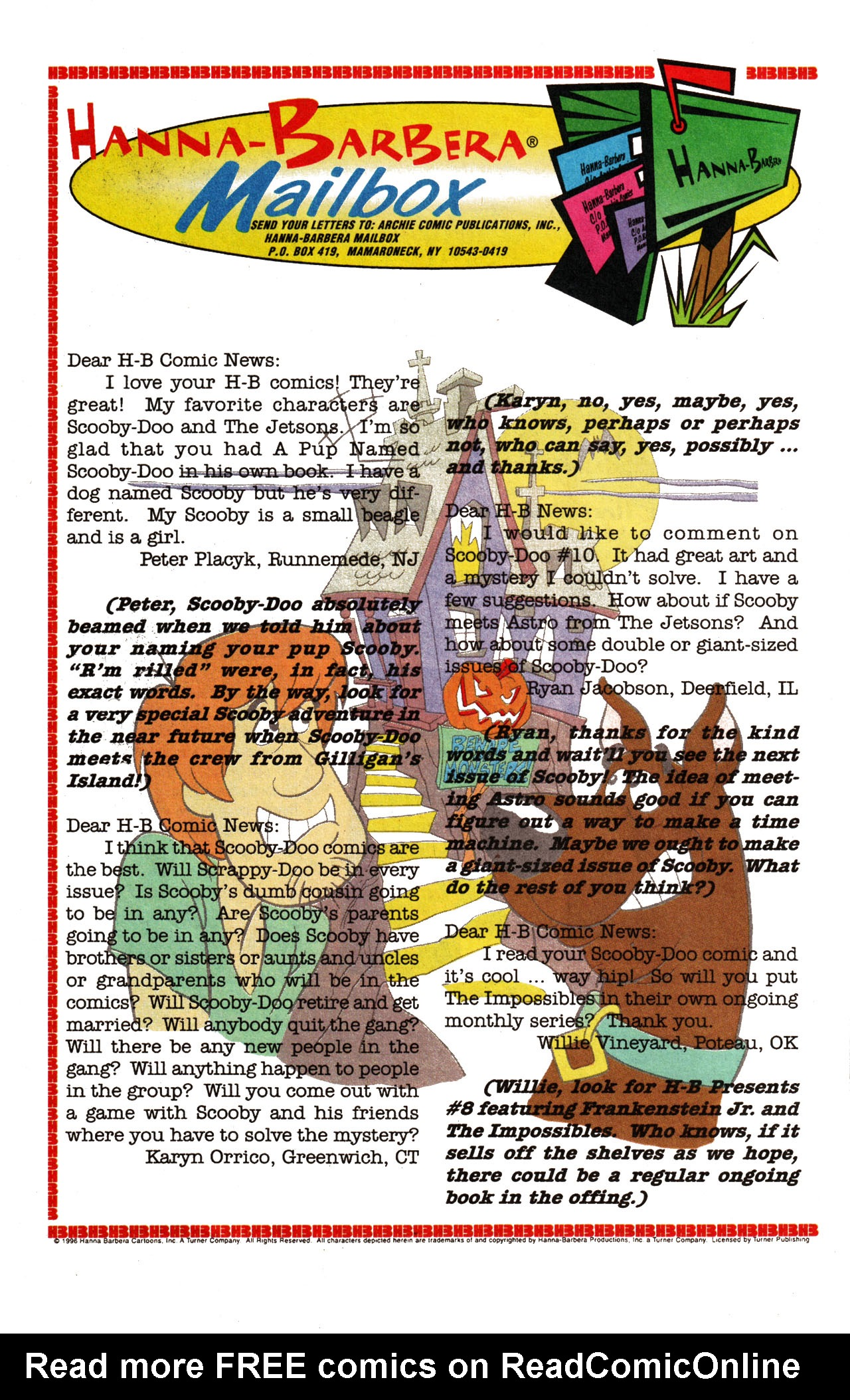 Read online Scooby-Doo (1995) comic -  Issue #13 - 23