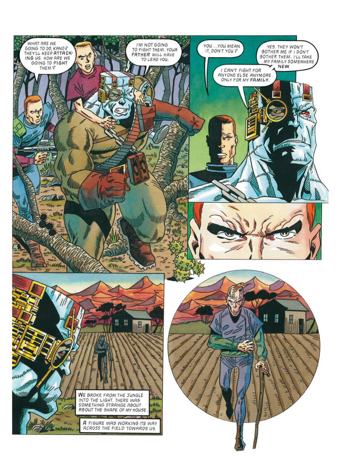 Read online The Complete Bad Company comic -  Issue # TPB - 290