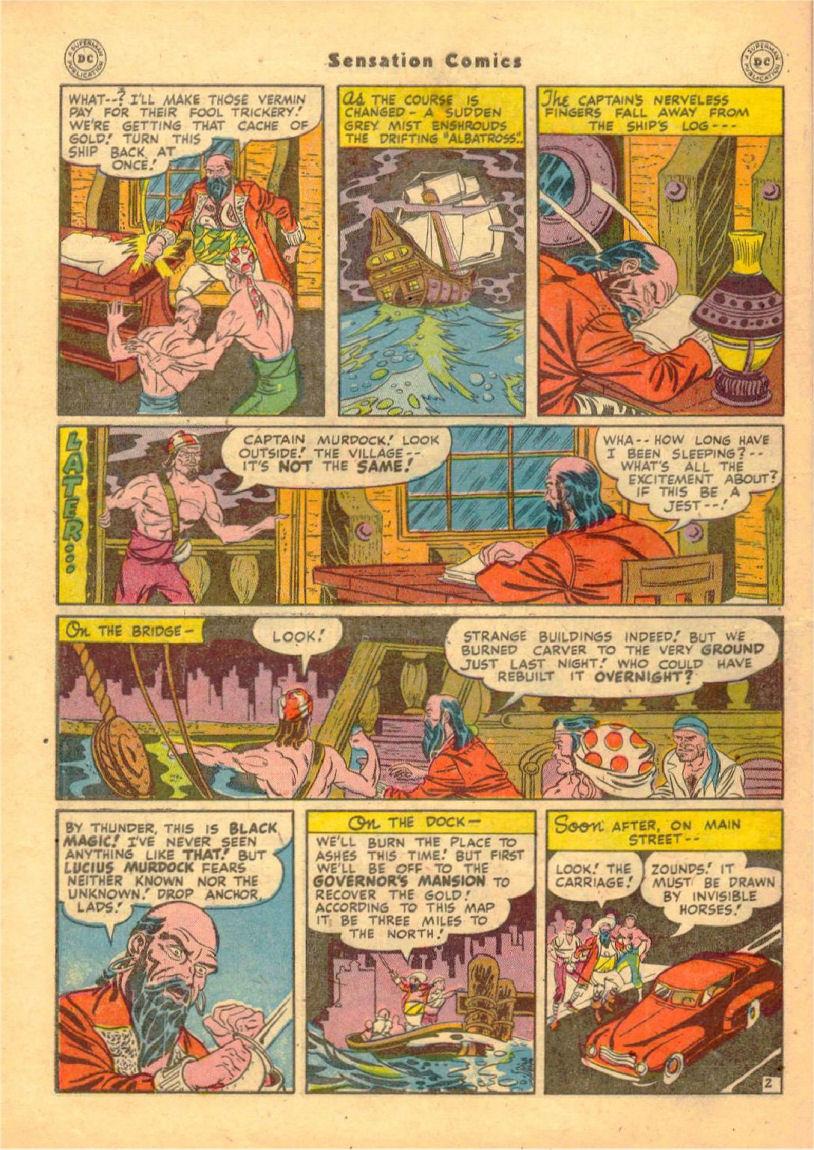 Read online Sensation (Mystery) Comics comic -  Issue #70 - 43