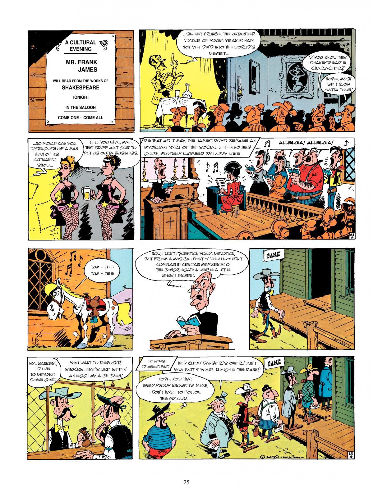 Read online A Lucky Luke Adventure comic -  Issue #4 - 27
