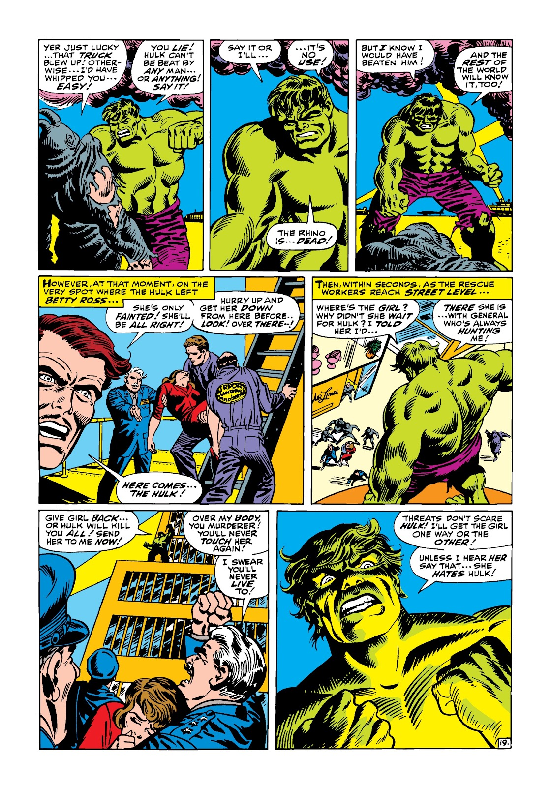 Read online Marvel Masterworks: The Incredible Hulk comic -  Issue # TPB 4 (Part 1) - 47