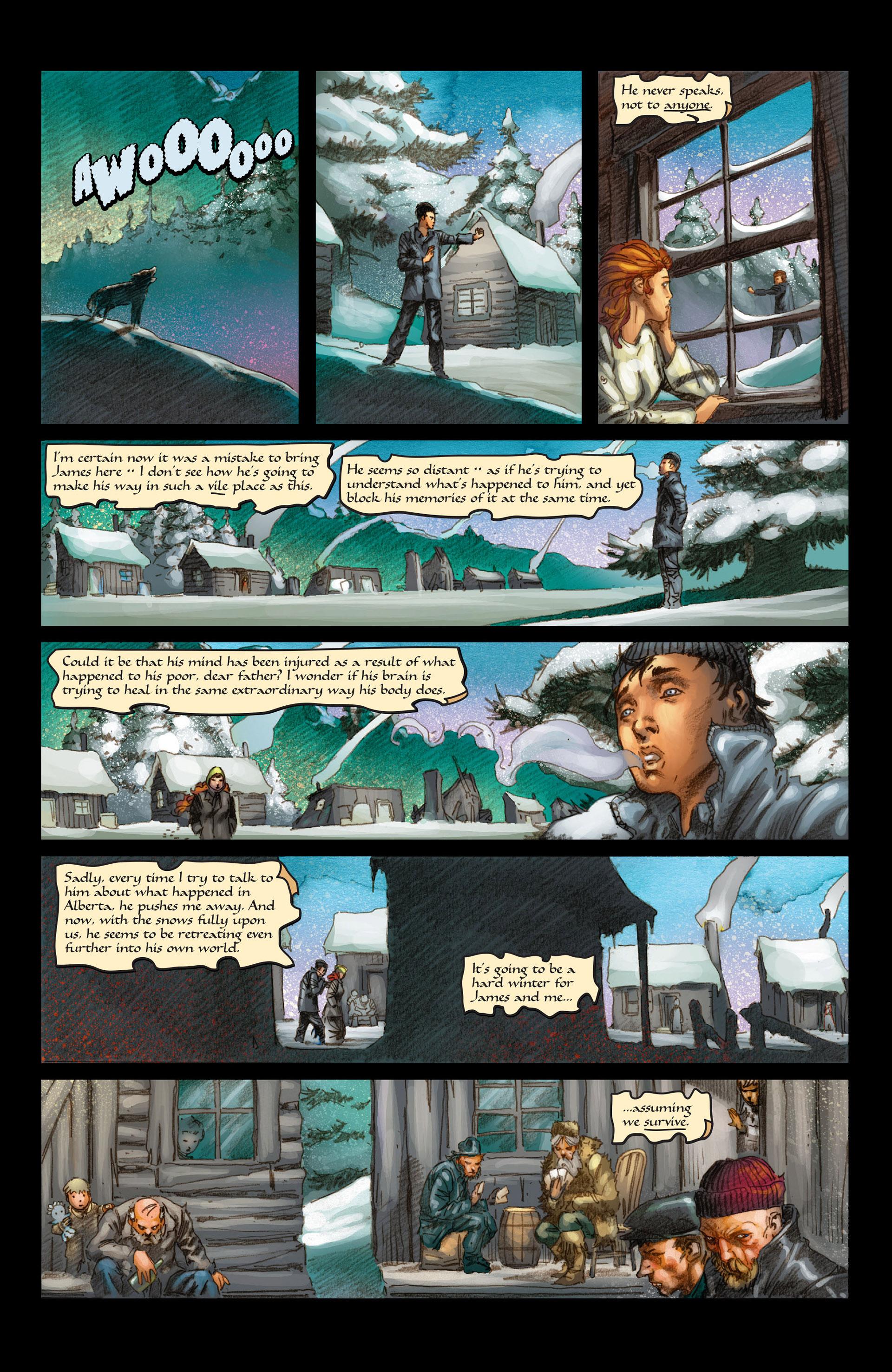 Read online Wolverine: The Origin comic -  Issue #4 - 8