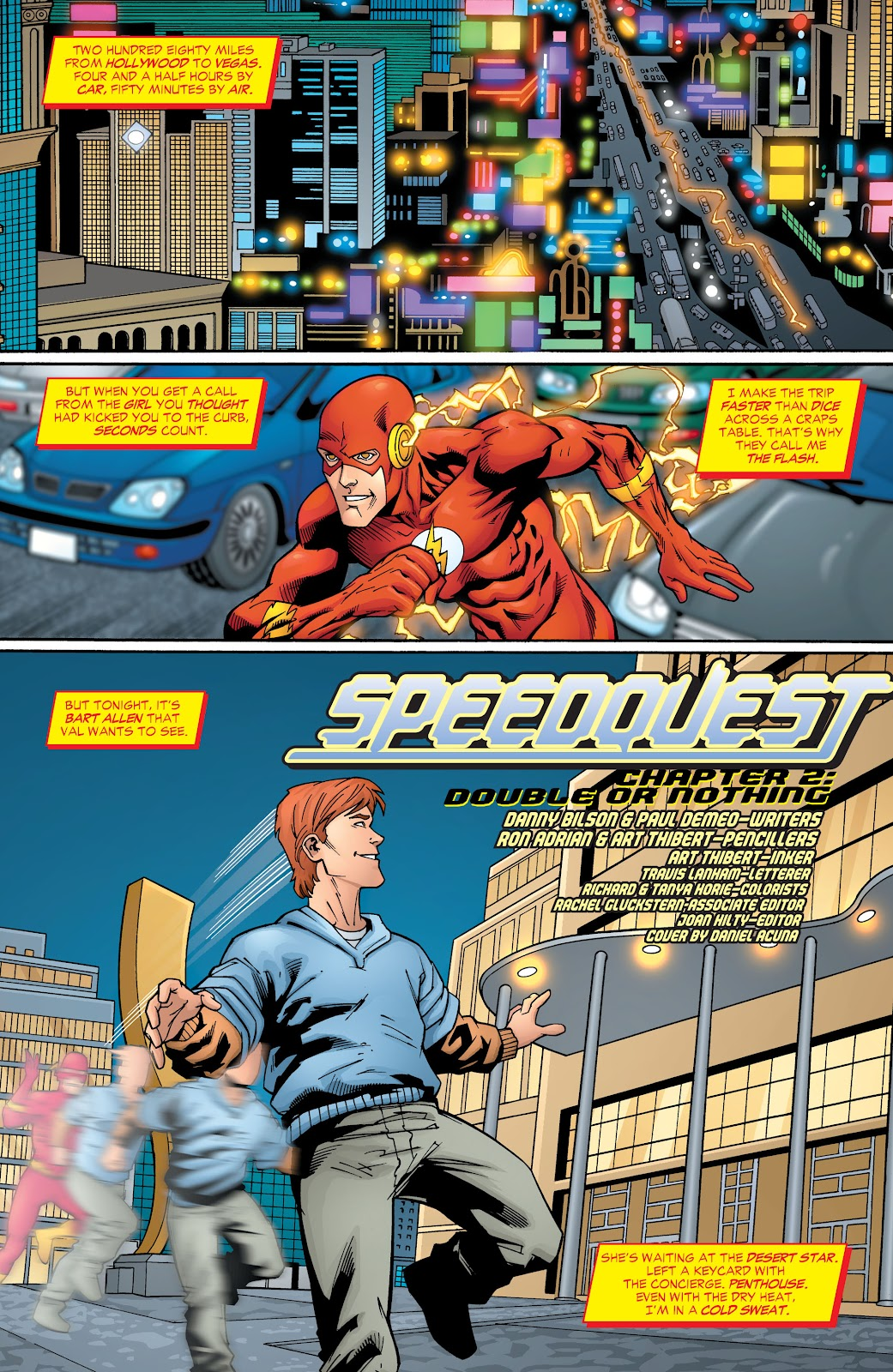 Comic Flash: The Fastest Man Alive issue 8