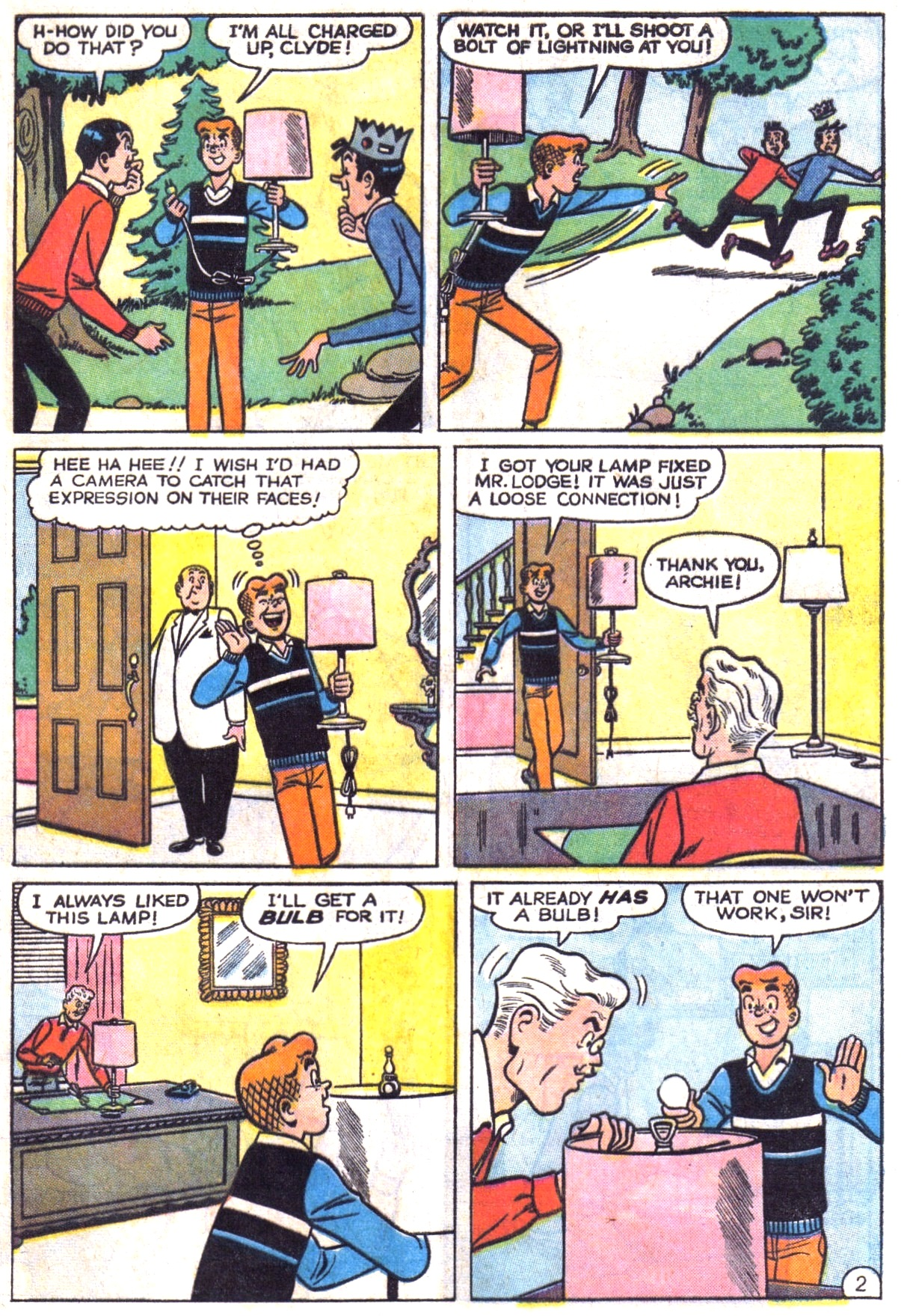 Read online Archie (1960) comic -  Issue #151 - 21