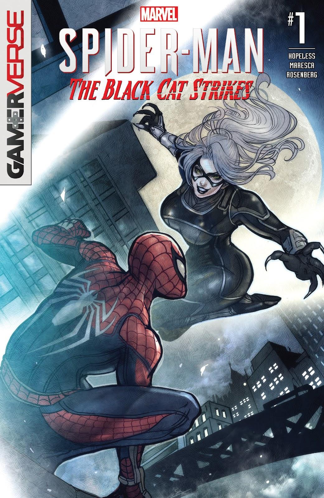Marvel's Spider-Man: The Black Cat Strikes 1 Page 1