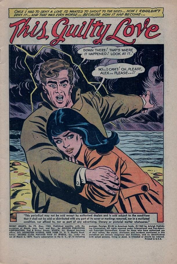 Read online Secret Hearts comic -  Issue #79 - 3
