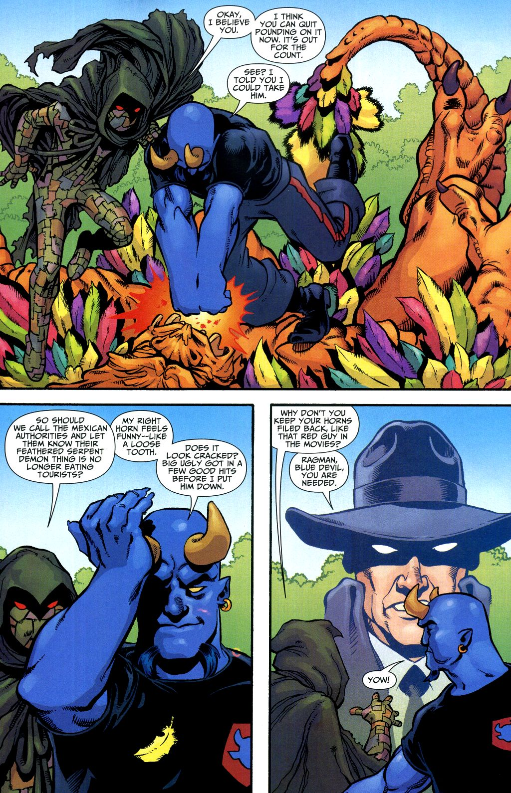 Read online Shadowpact comic -  Issue #1 - 13