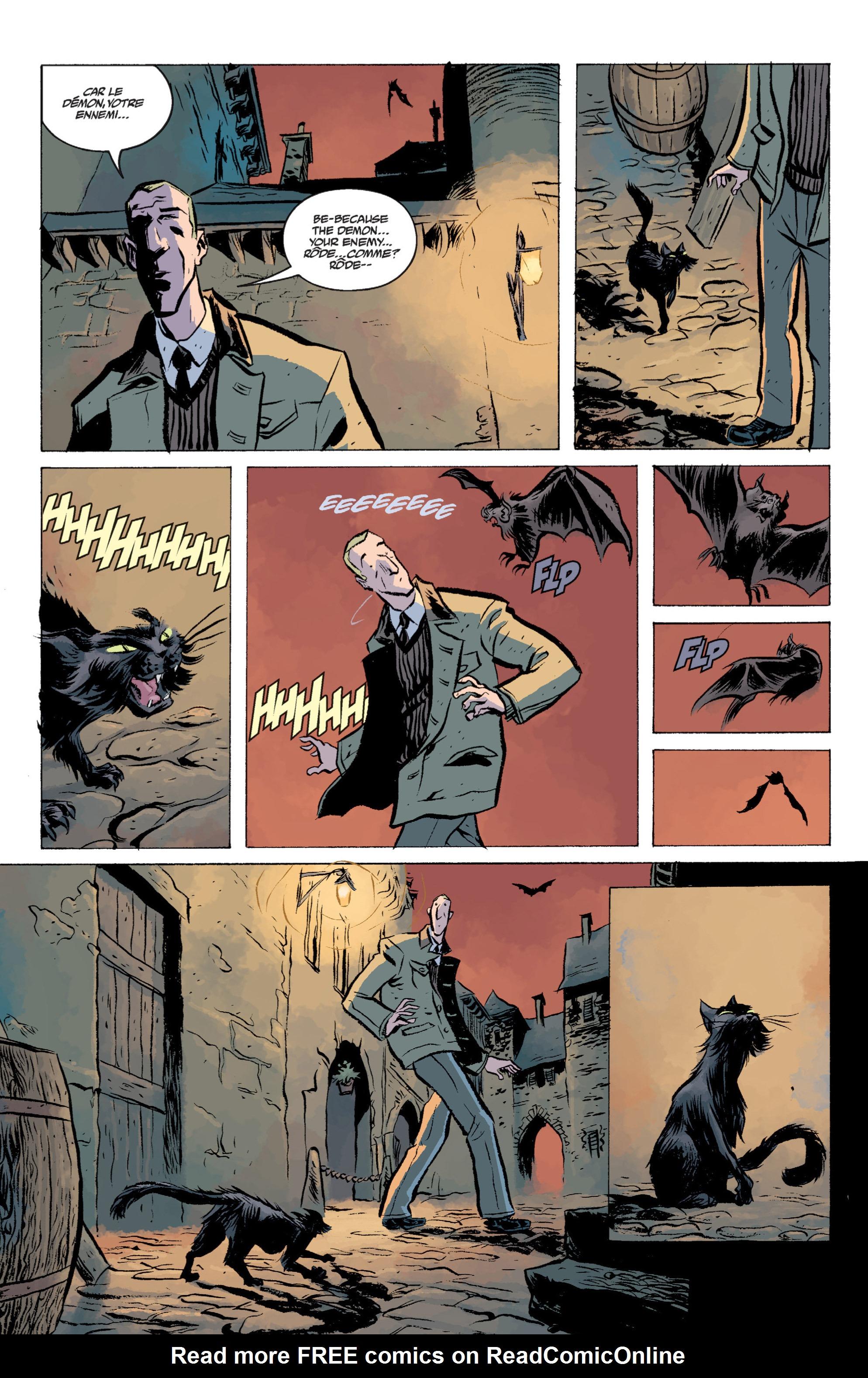 Read online B.P.R.D. (2003) comic -  Issue # TPB 13 - 22