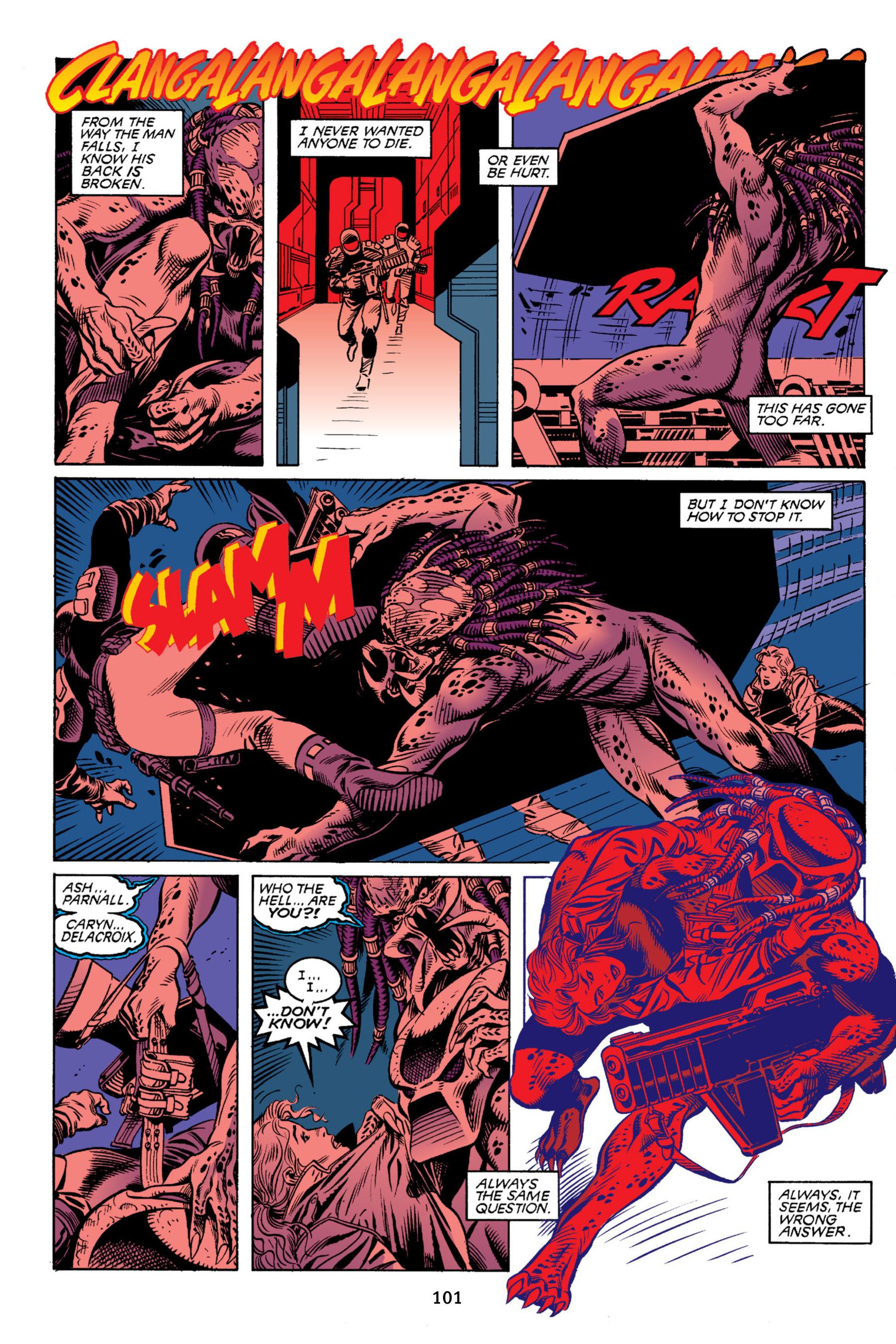 Read online Aliens vs. Predator Omnibus comic -  Issue # _TPB 2 Part 1 - 100