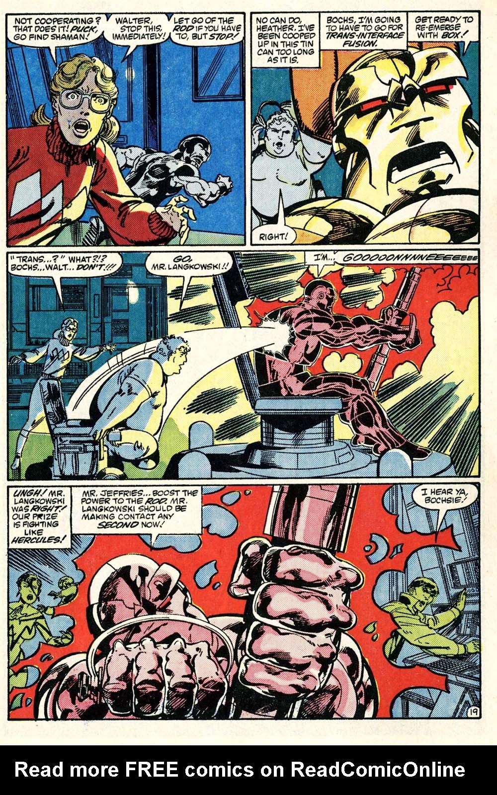 Read online Alpha Flight (1983) comic -  Issue #28 - 20