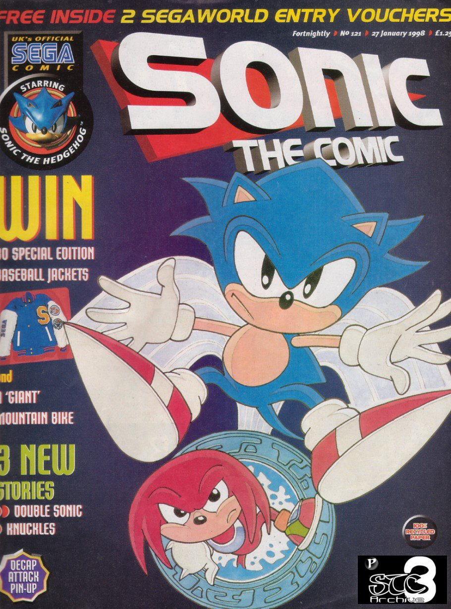 Read online Sonic the Comic comic -  Issue #121 - 1