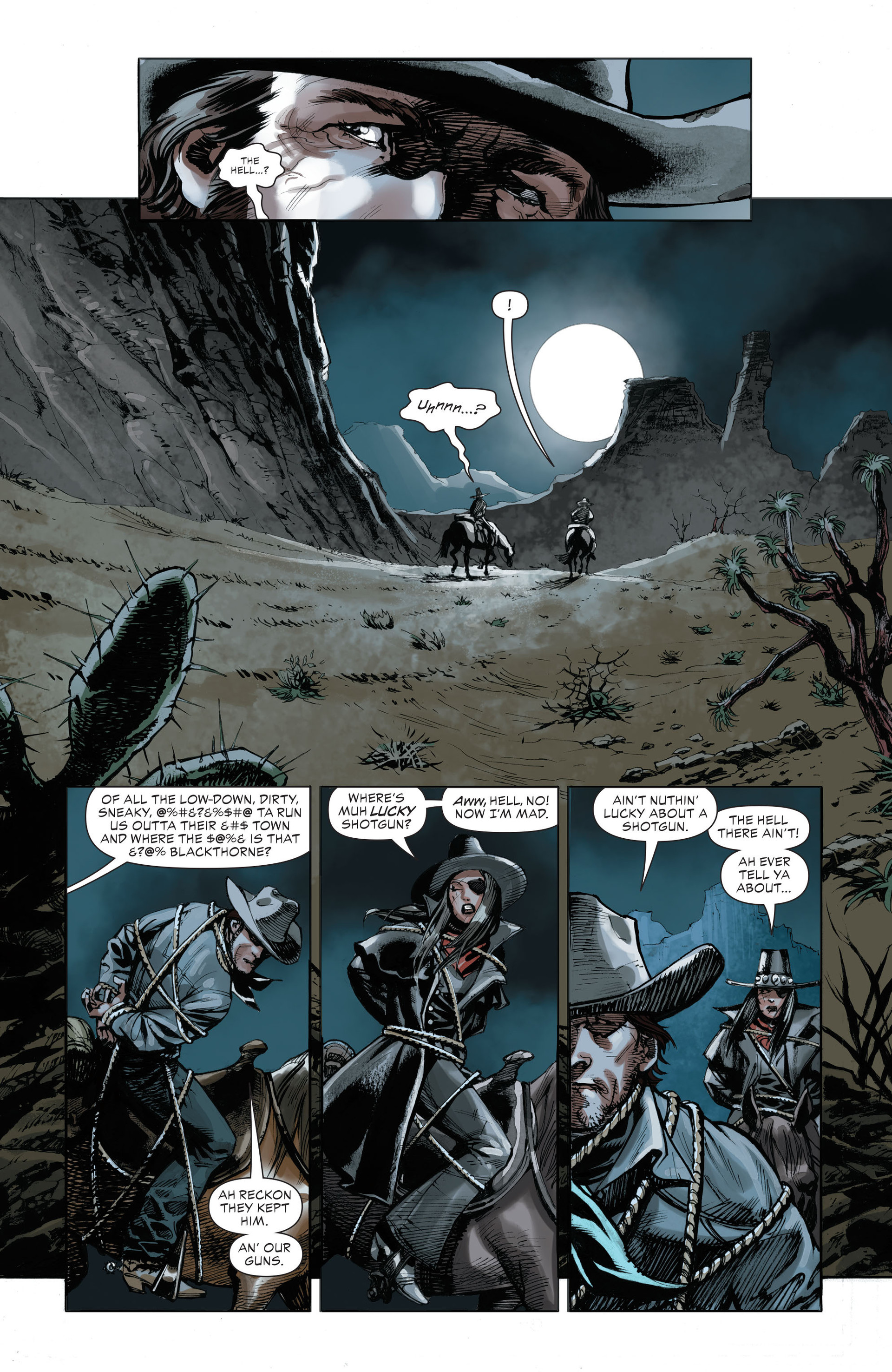 Read online All-Star Western (2011) comic -  Issue #32 - 14
