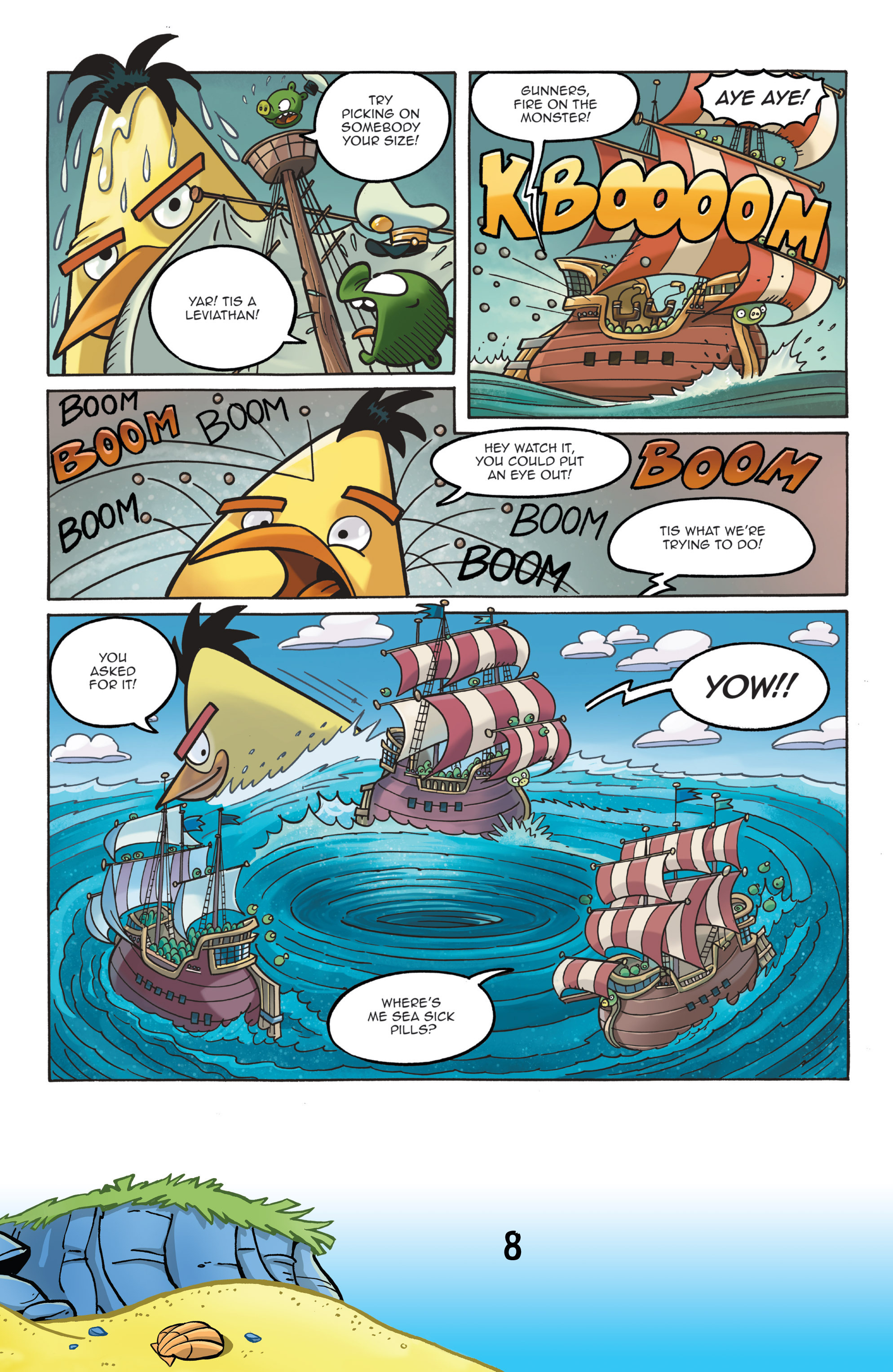 Read online Angry Birds Comics (2016) comic -  Issue #7 - 10