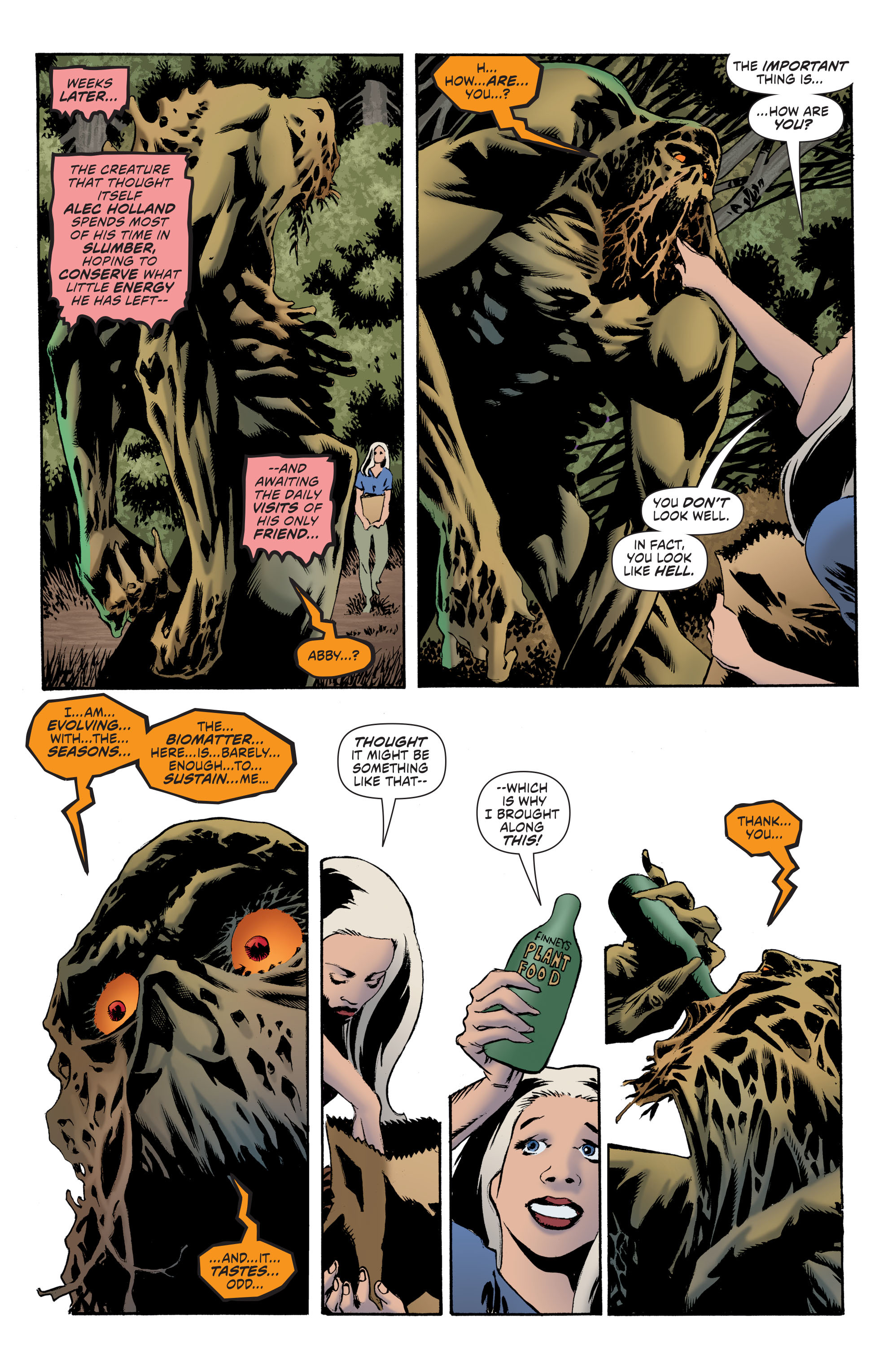 Read online Convergence Swamp Thing comic -  Issue #1 - 17
