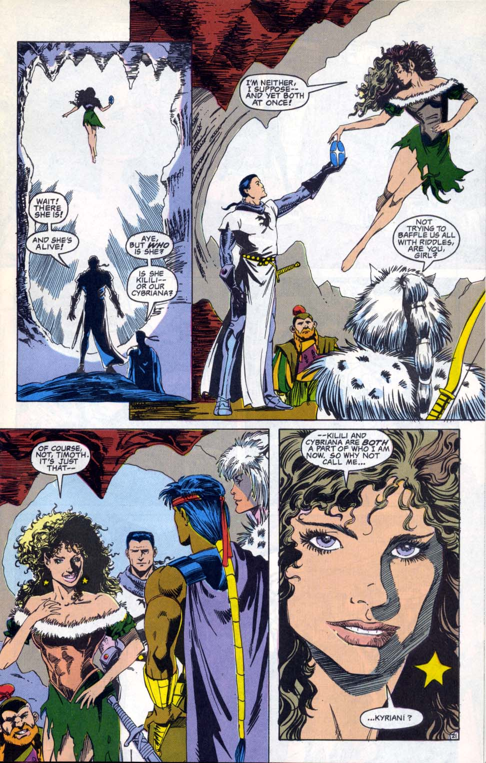 Read online Advanced Dungeons & Dragons comic -  Issue #4 - 21