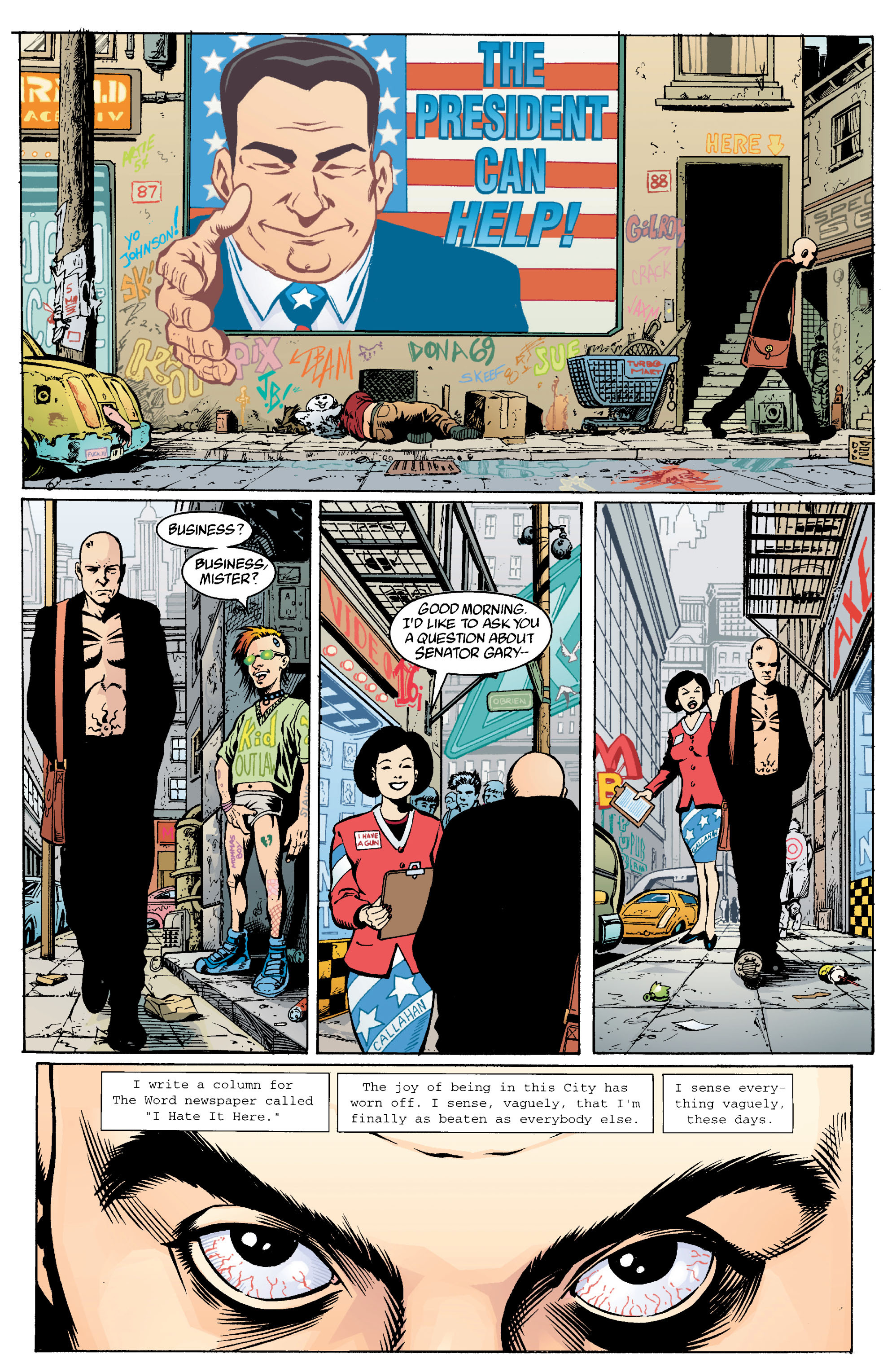 Read online Transmetropolitan comic -  Issue #13 - 17