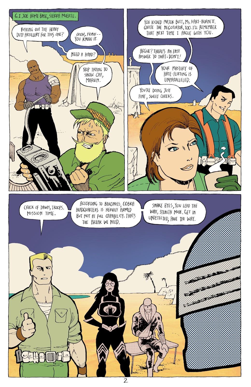 Read online G.I. Joe: Sierra Muerte comic -  Issue #3 - 4