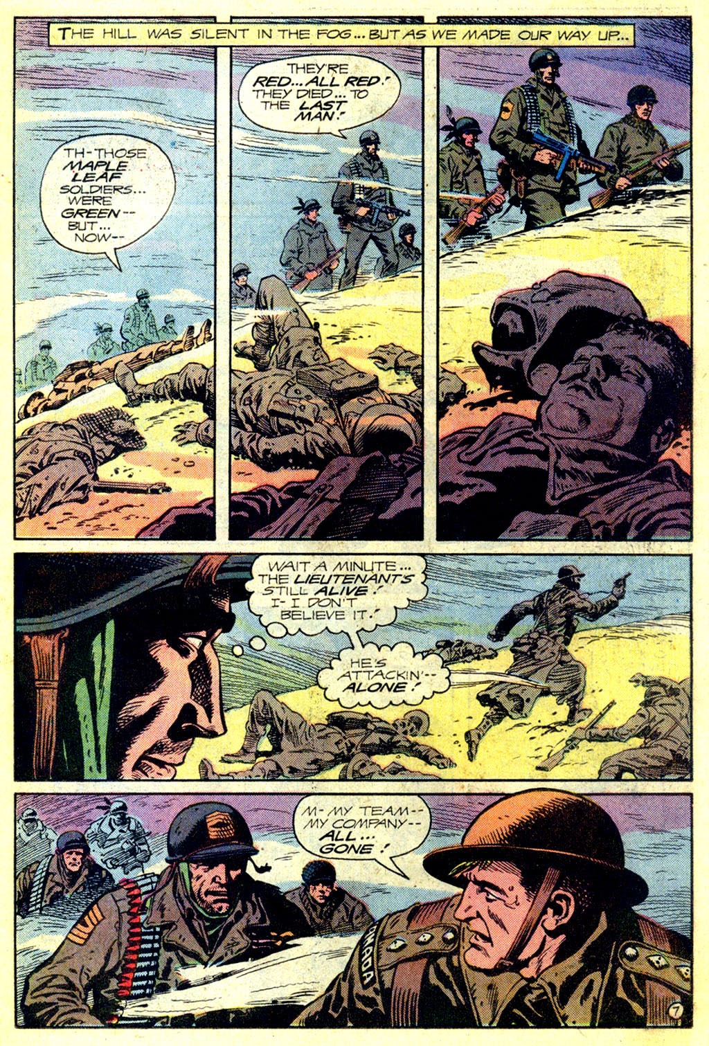 Read online Sgt. Rock comic -  Issue #336 - 7