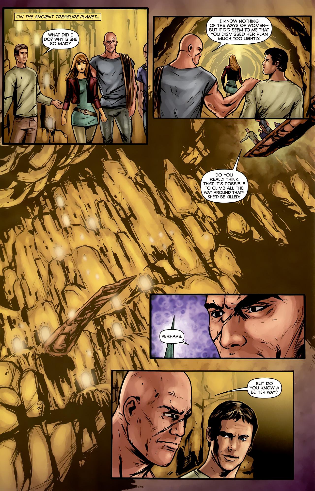 Read online Stargate: Daniel Jackson comic -  Issue #3 - 10