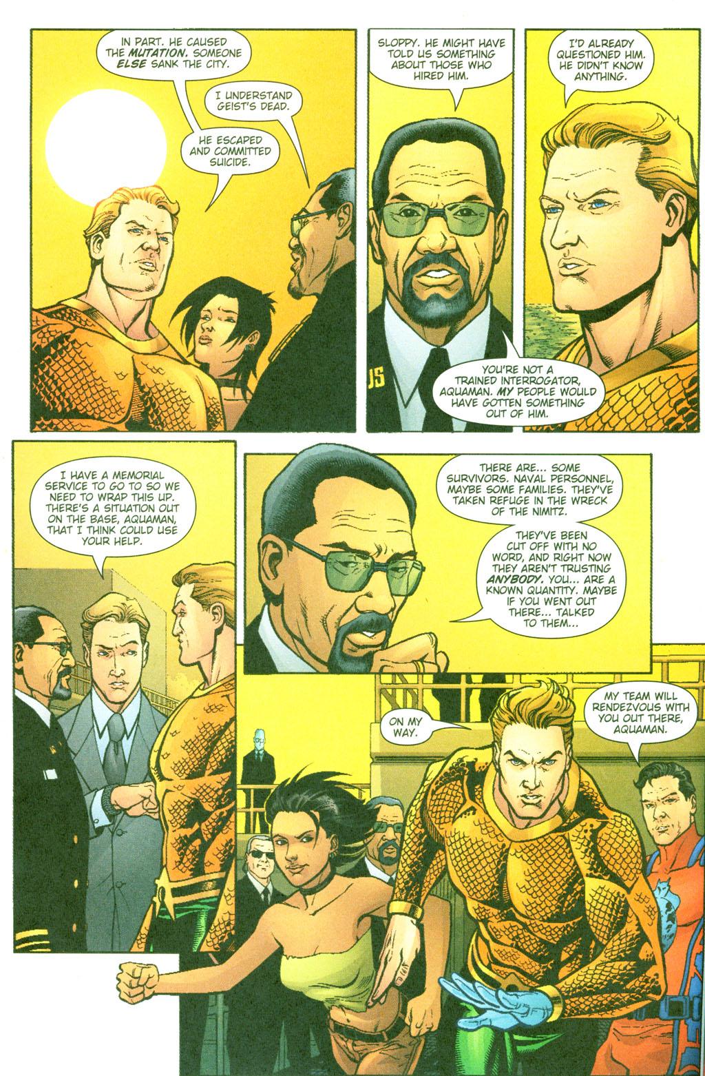 Read online Aquaman (2003) comic -  Issue #23 - 9