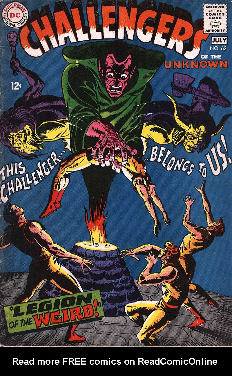 Challengers of the Unknown (1958) 62 Page 1