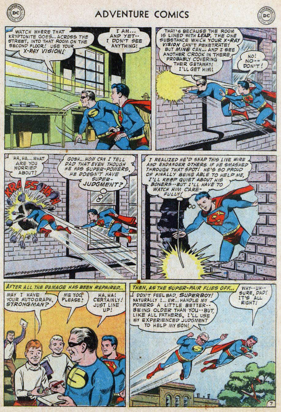 Read online Adventure Comics (1938) comic -  Issue #236 - 9