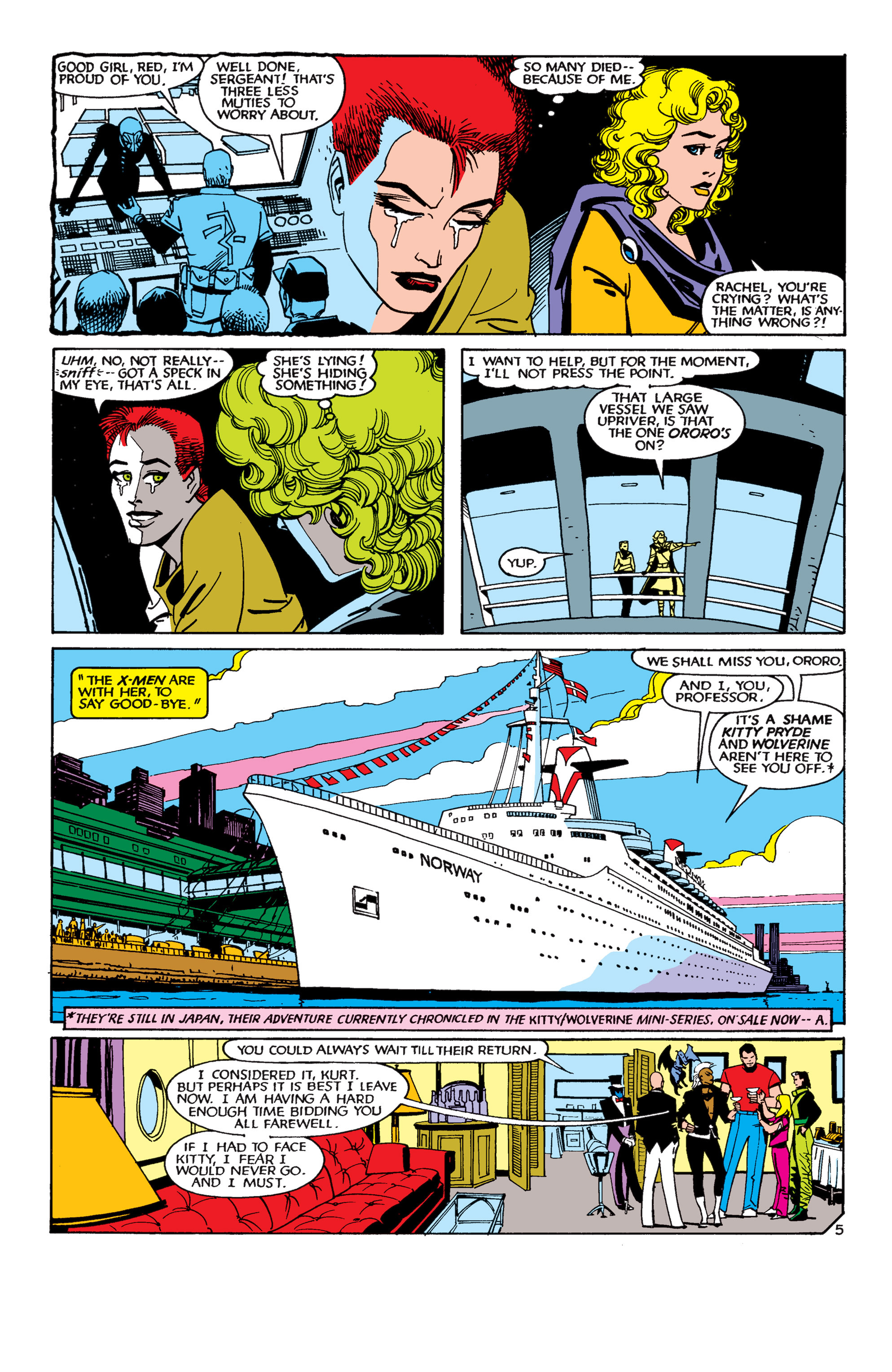 Read online Uncanny X-Men (1963) comic -  Issue #189 - 5
