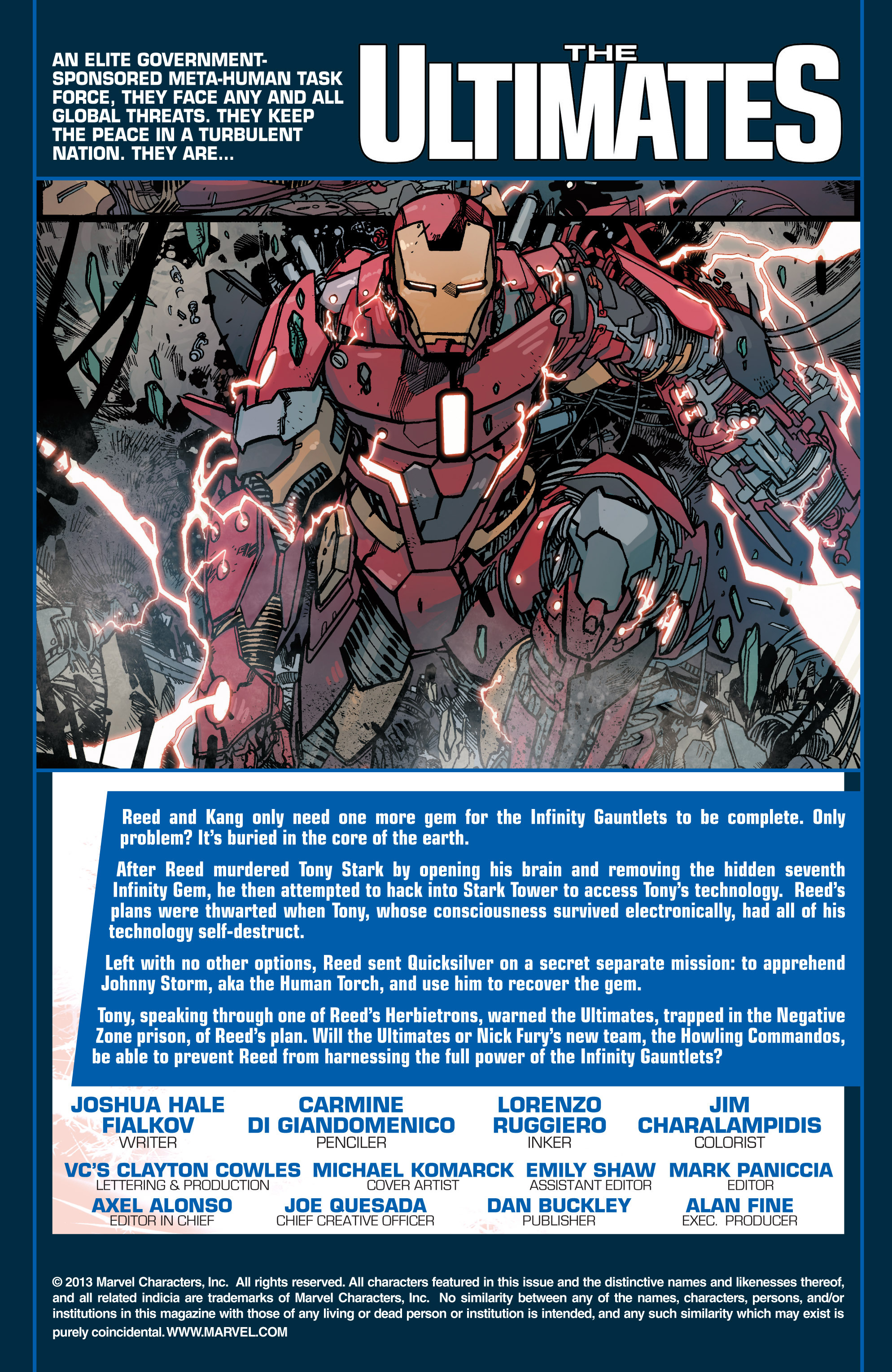 Read online Ultimate Comics Ultimates comic -  Issue #29 - 2